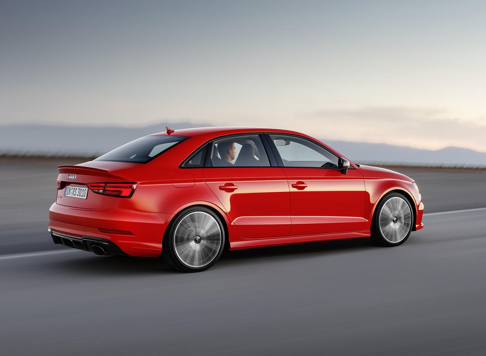 2018 Audi Rs3 Sedan Rear Three Quarter Wallpaper Audi Rs3 Sedan 2018 White 2179080 Hd Wallpaper Backgrounds Download