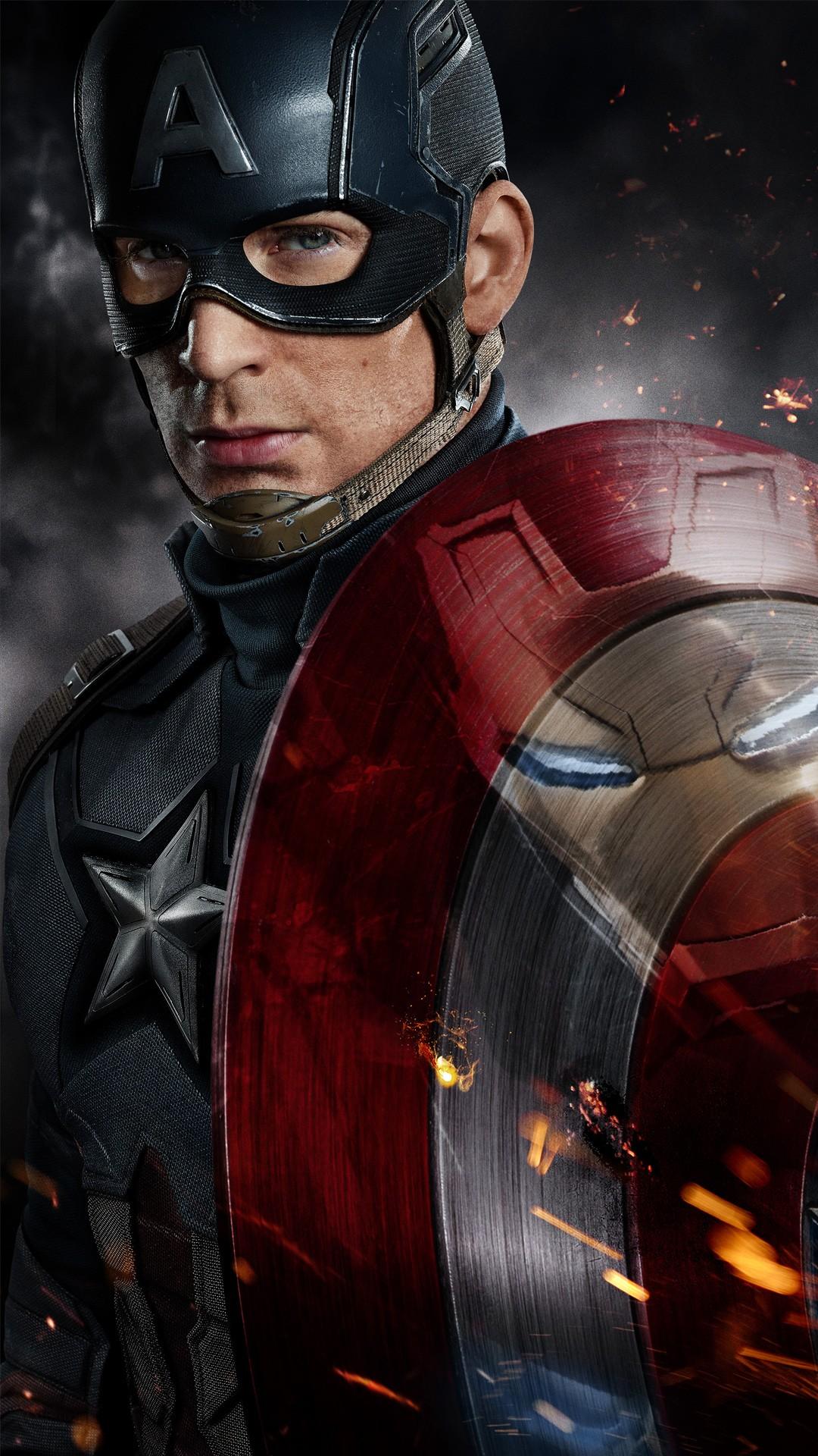 Resolutions 1080 X - Capitan America Civil War , HD Wallpaper & Backgrounds