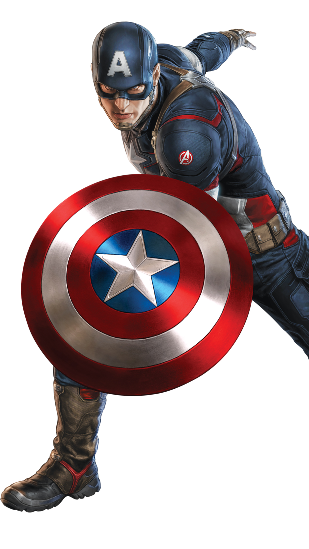 Back To 95 Captain America Iphone Wallpapers - Marvel Stickers For Whatsapp , HD Wallpaper & Backgrounds