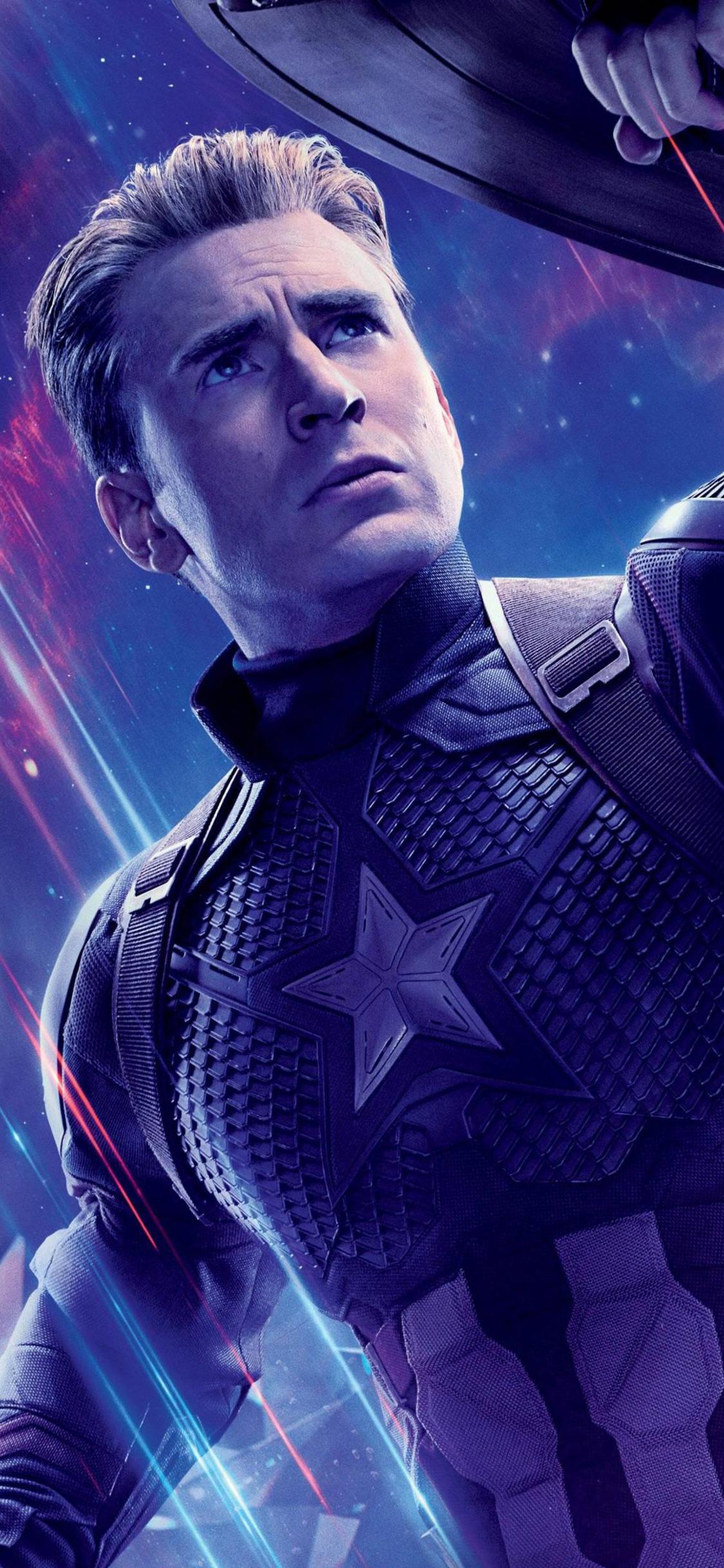 Captain America In Avengers Endgame - Avengers Endgame Captain America , HD Wallpaper & Backgrounds