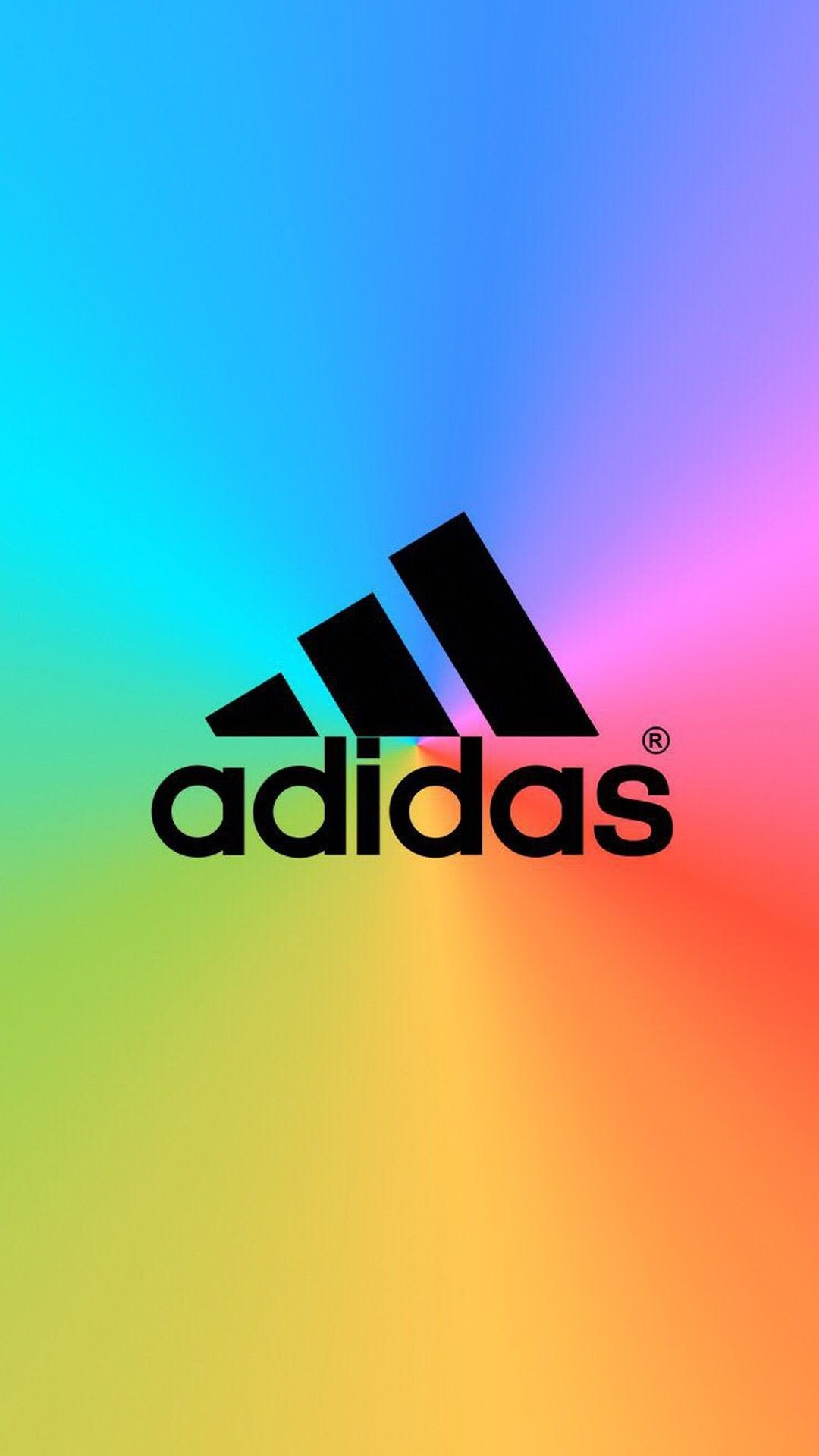 1080x1920 Adidas Blue Background Iphone 6 Hd Wallpaper