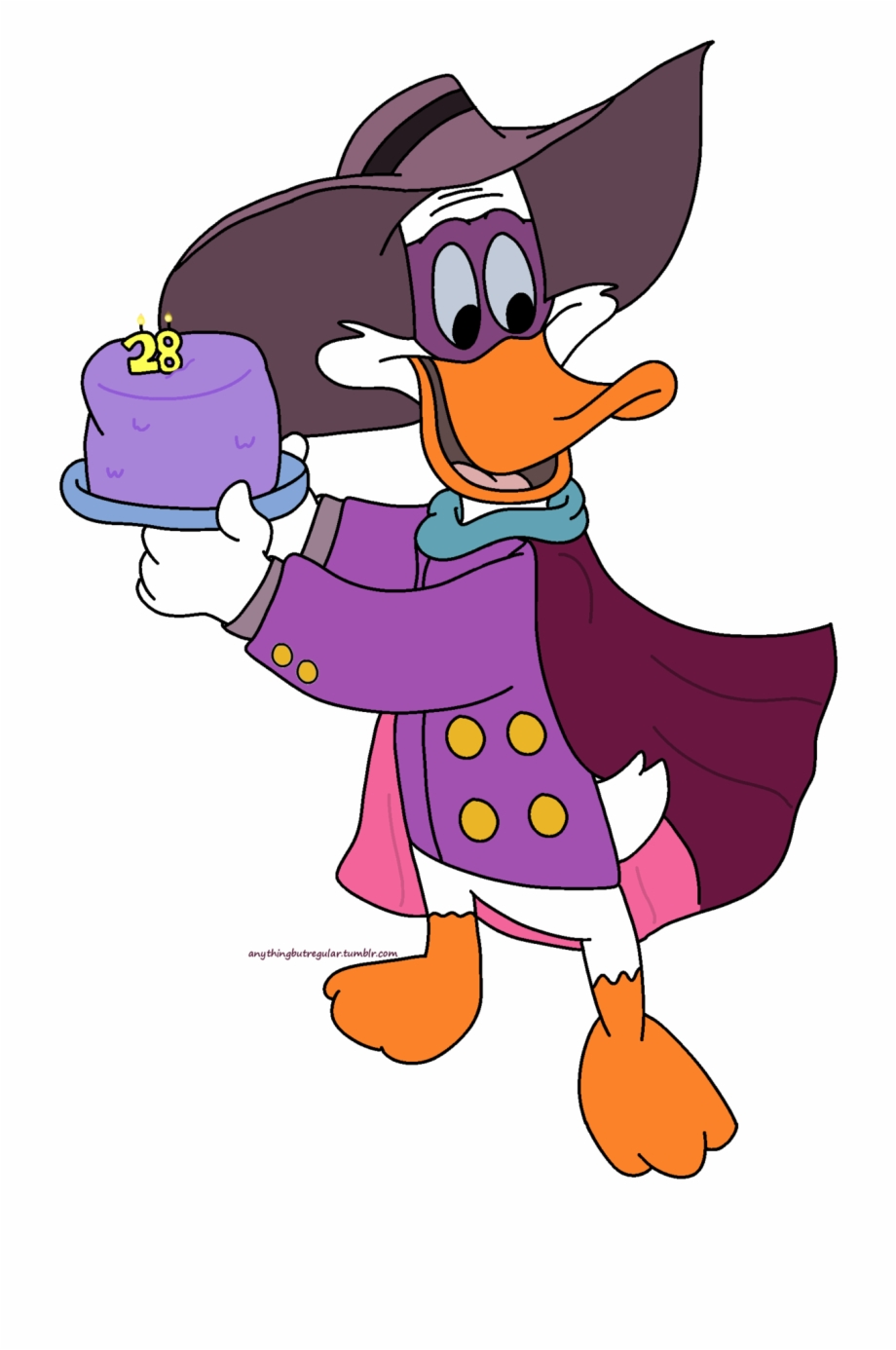 Darkwing Duck Cartoon HD Wallpaper