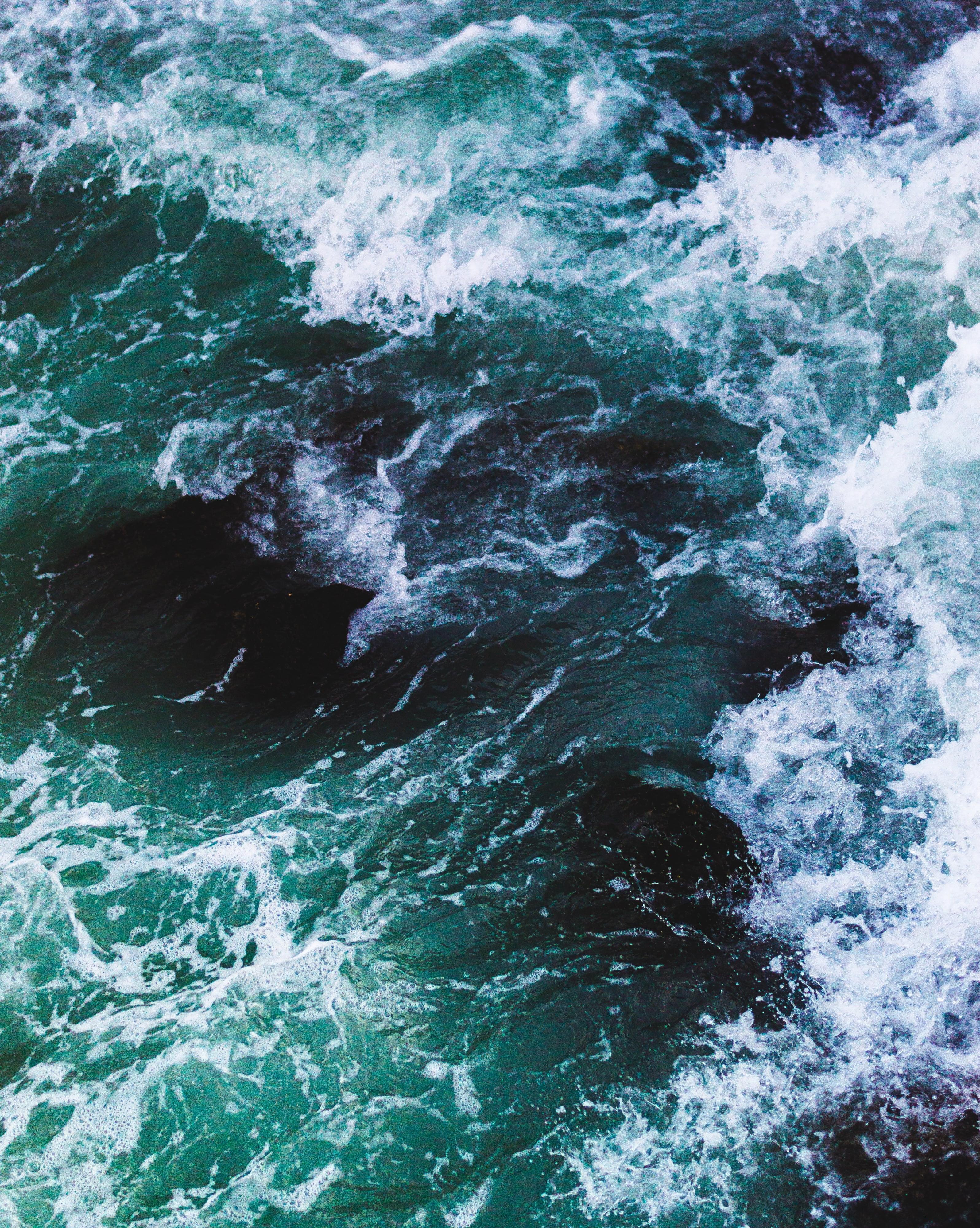 Ocean Waves Wallpaper 166834 - Samsung S8 Wallpaper Sea , HD Wallpaper & Backgrounds