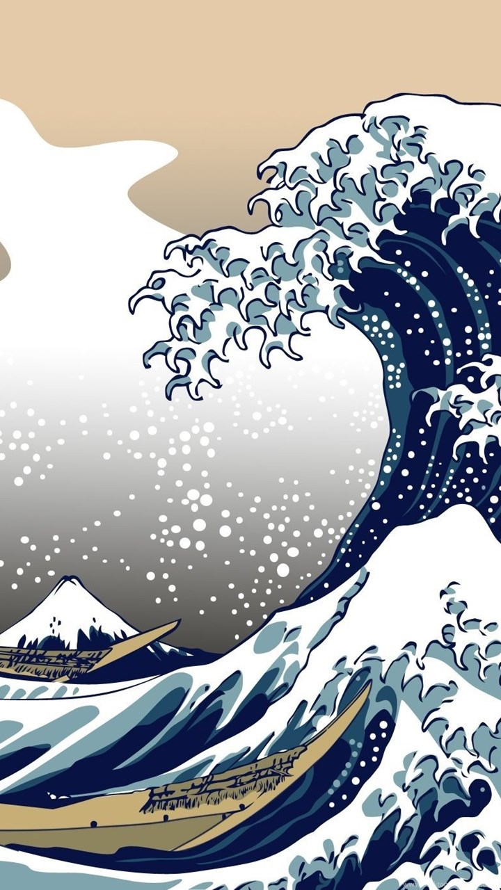 The Great Wave Off Kanagawa Wallpaper 275008 Great Wave Off