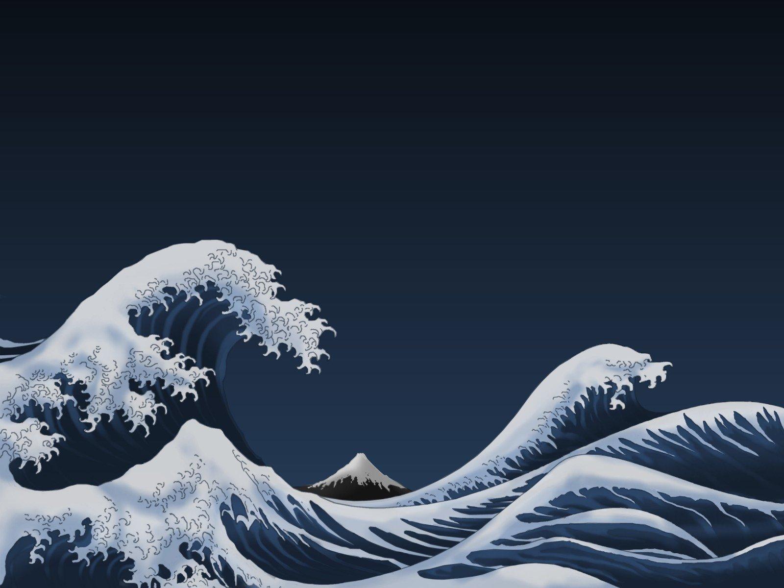 Wallpapers Id Great Wave Off Kanagawa 2185831 Hd