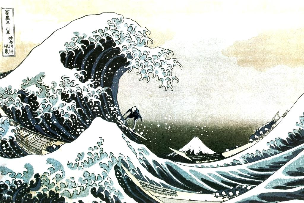 Art Hokusai The Great Wave Off Kanagawa 2186211 Hd
