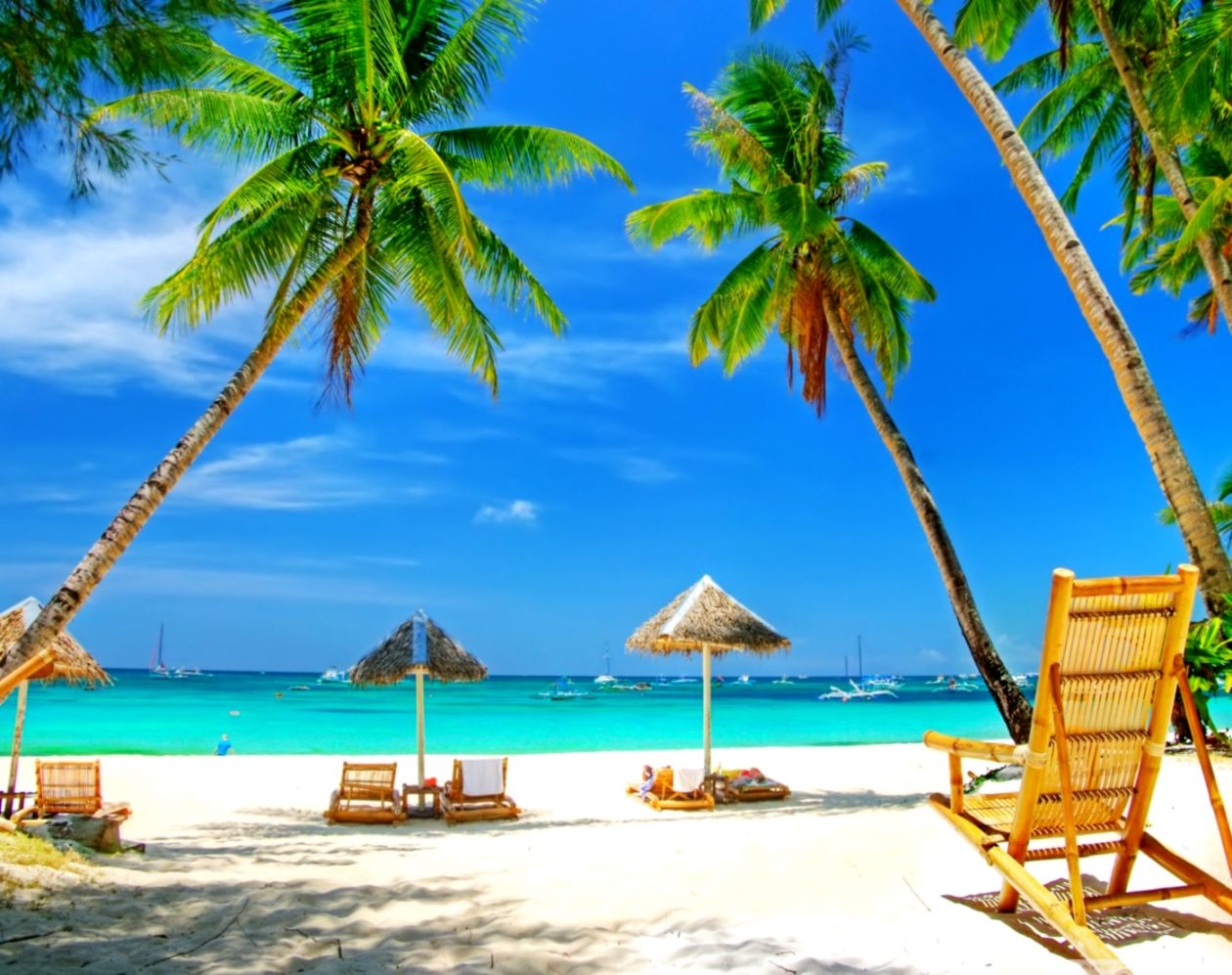 Tropical Paradise Beach 4k Hd Desktop Wallpaper For ...