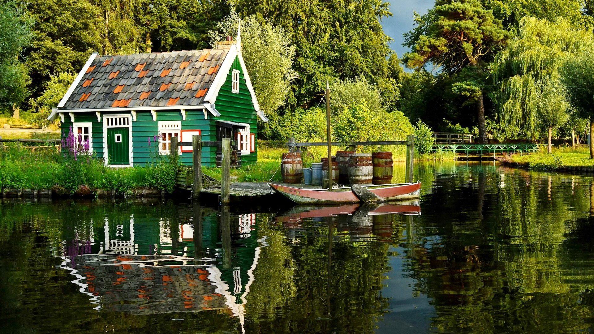 Calm Sunset Lake Free Desktop Wallpaper Lakes 2192579