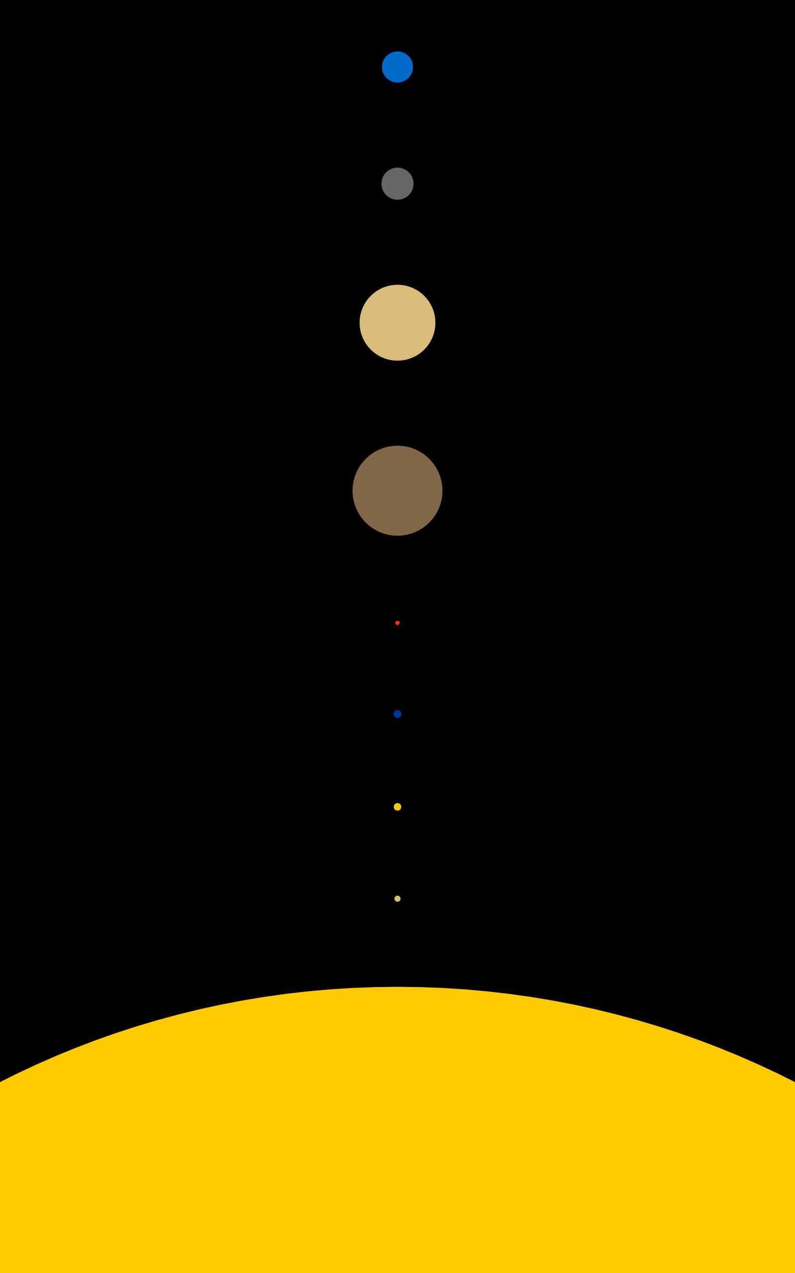 Solar System, Space, Planet, Minimalism, Portrait Display - Hd Space Phone Wallpapers Minimalist , HD Wallpaper & Backgrounds