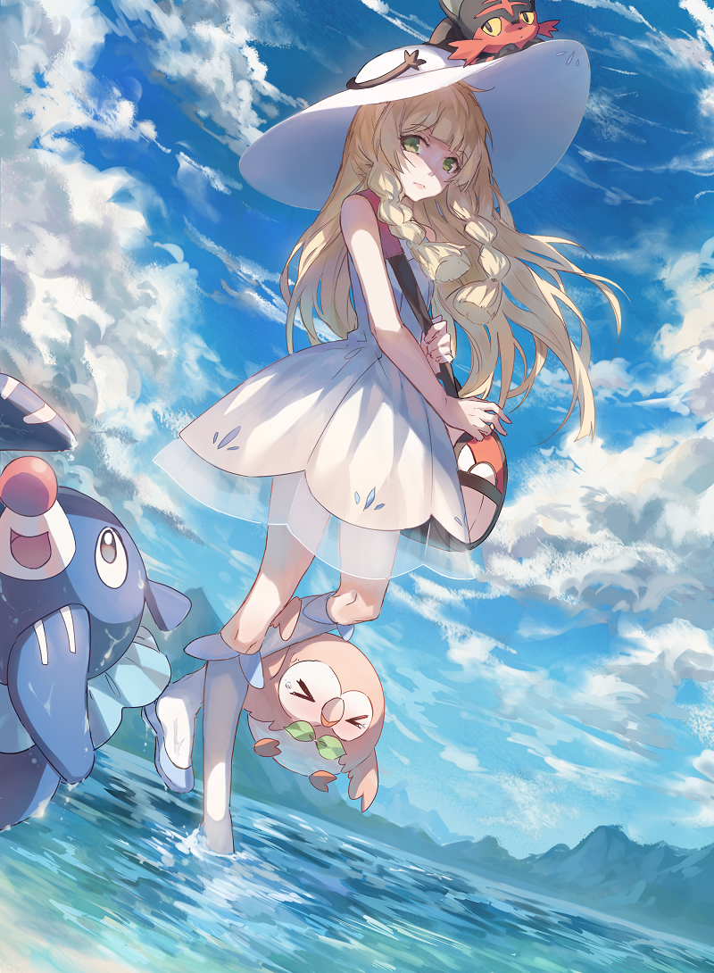 Pokemon Sun Moon Lillie Pokemon Fan Art 2194746 Hd