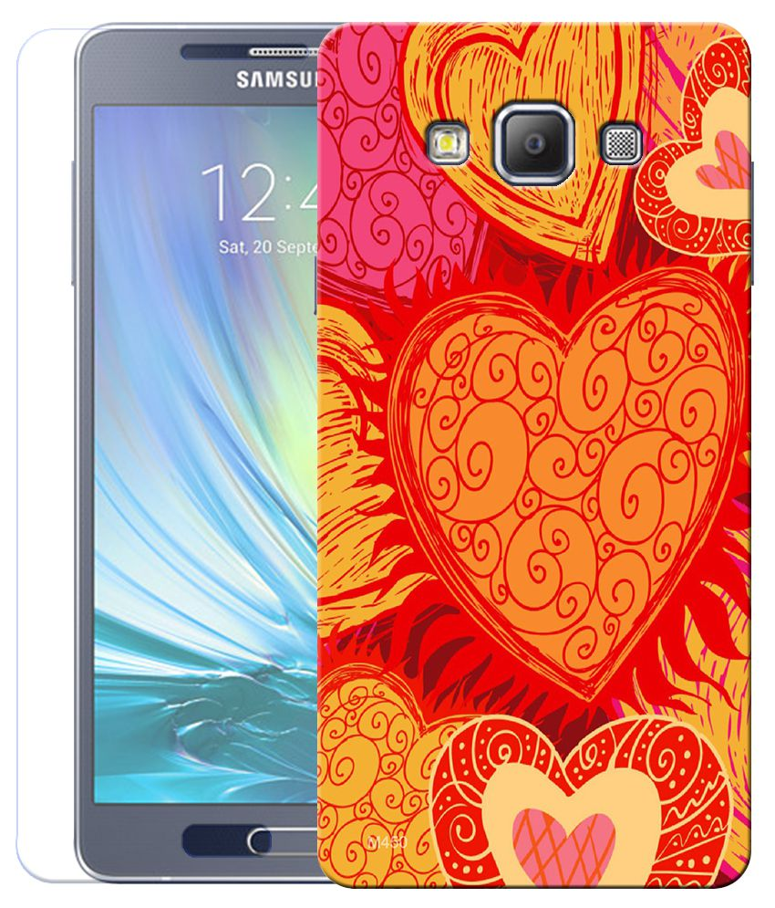 Finest Combo Of Love Heart Wallpaper Hd Uv Printed Samsung