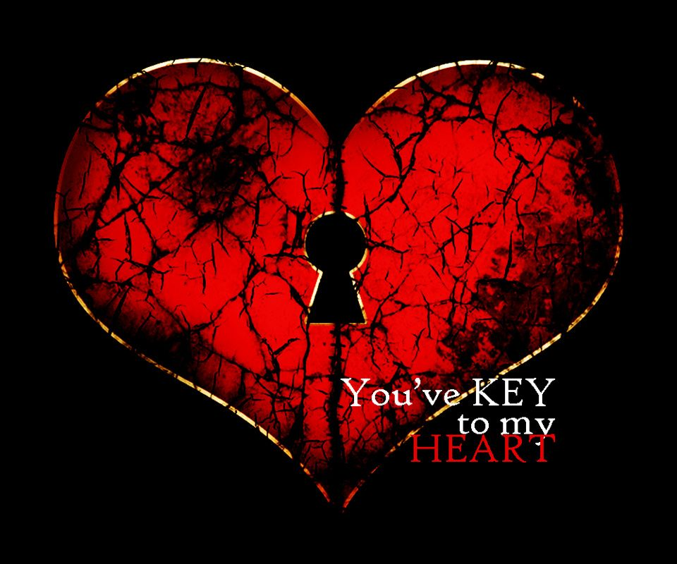 Key To My Phone Wallpapers - Broken Heart Wallpaper For Android , HD Wallpaper & Backgrounds