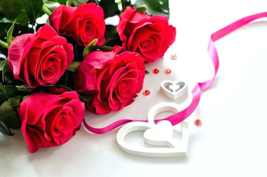 Valentines Day Flowers Wallpaper Valentines Day Mood Love Roses