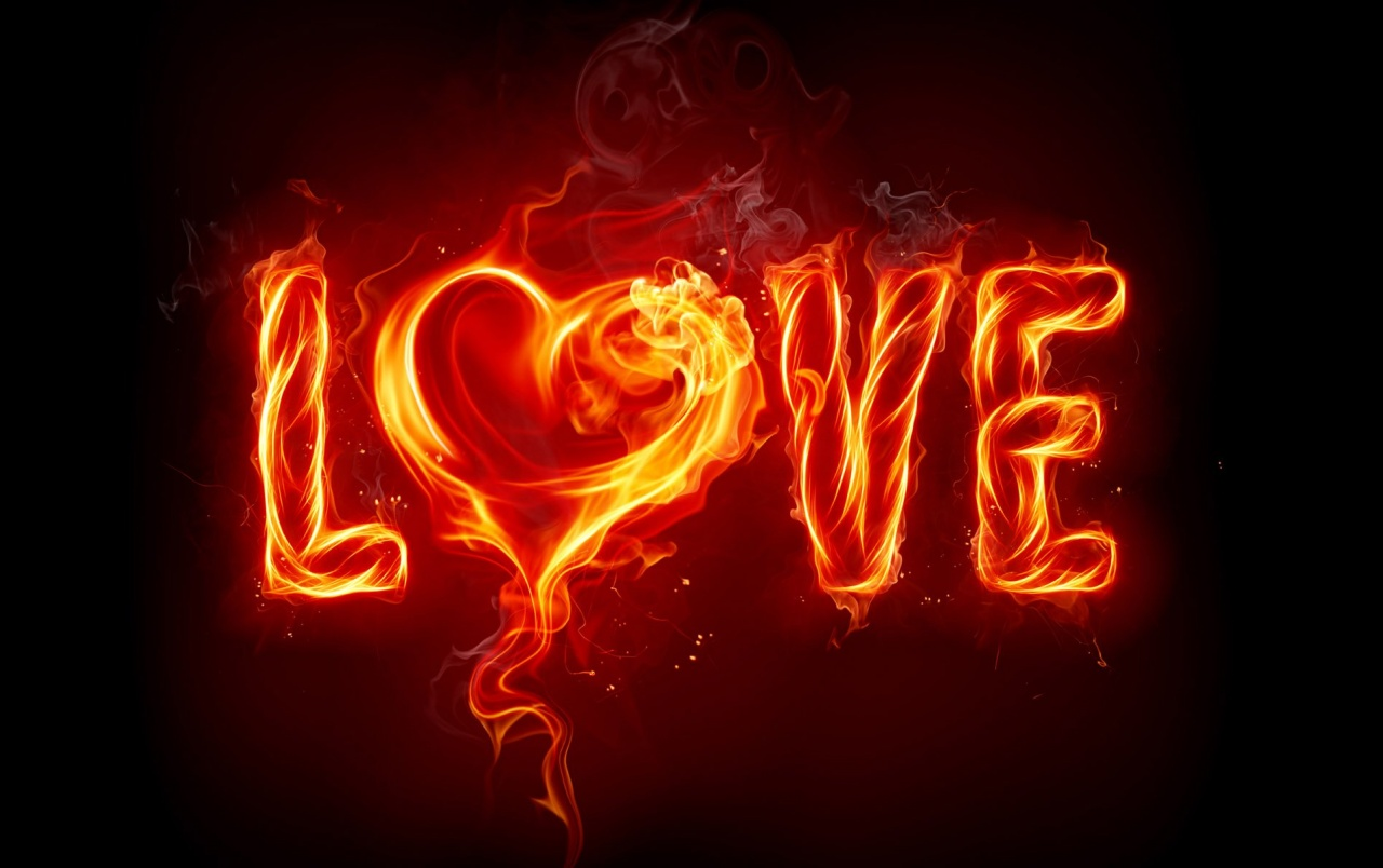 Originalwide Love Fire Heart Abstract Wallpapers - Burning Love , HD Wallpaper & Backgrounds