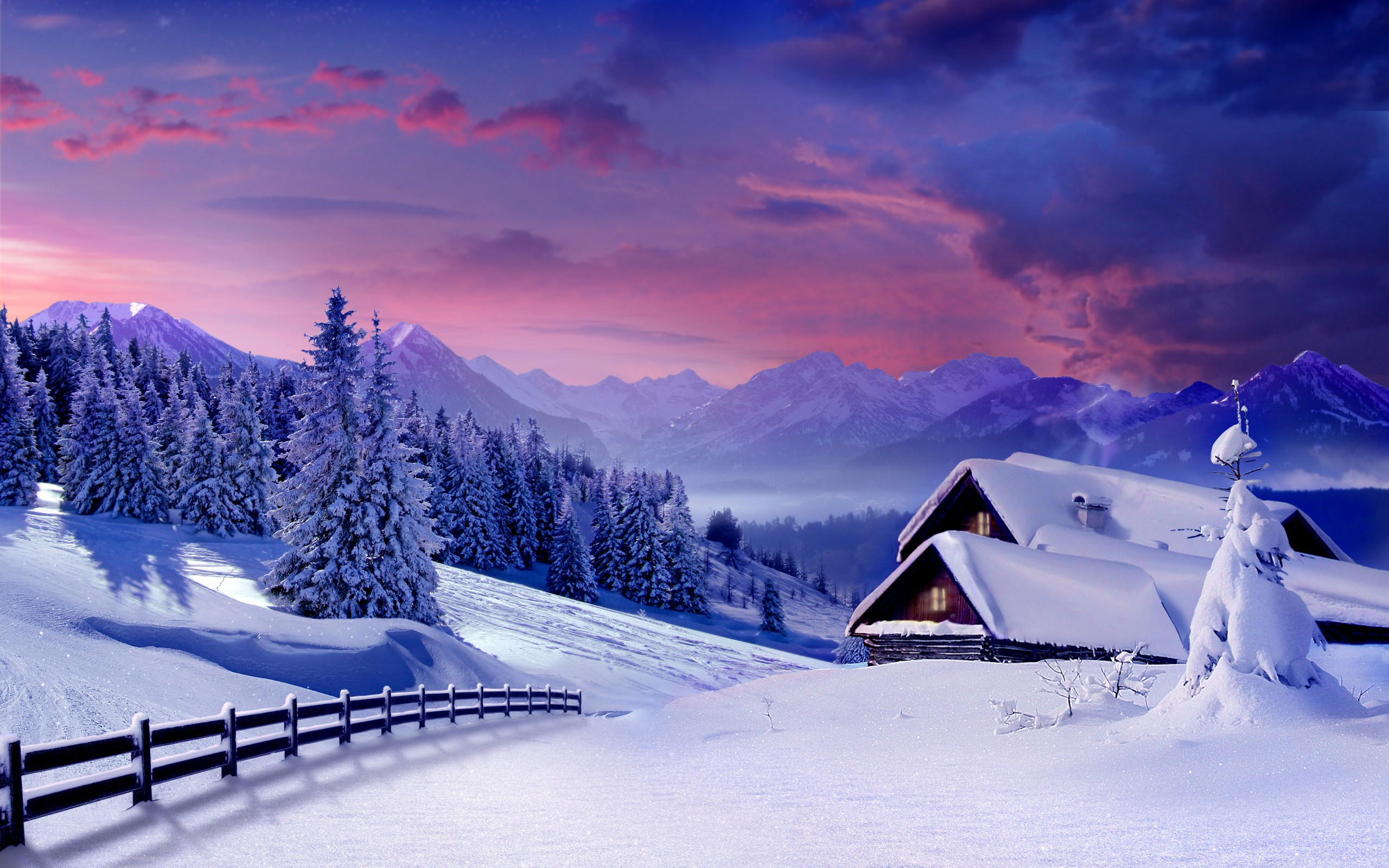 Beautiful Nature Hd Wallpapers On Wallpaperget - Nature Wallpaper Winter , HD Wallpaper & Backgrounds
