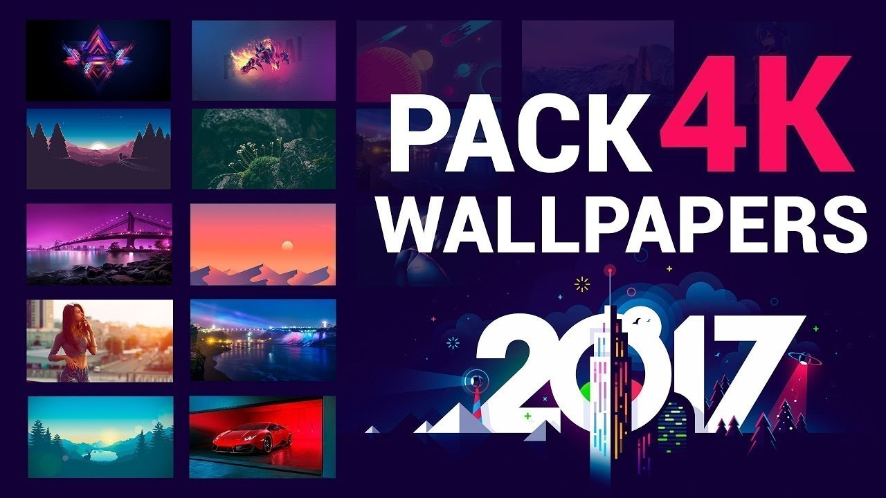 Pack De Wallpapers Full Hd 4k - Fondo De Pantalla 4k Para Pc , HD Wallpaper & Backgrounds