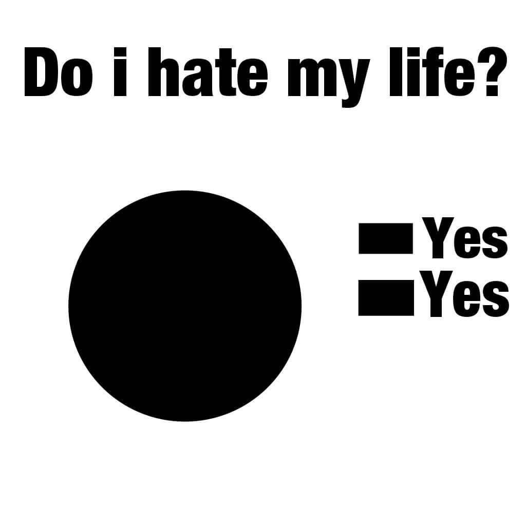I Hate My Life Wallpapers - Quotes (#225519) - HD Wallpaper ...
