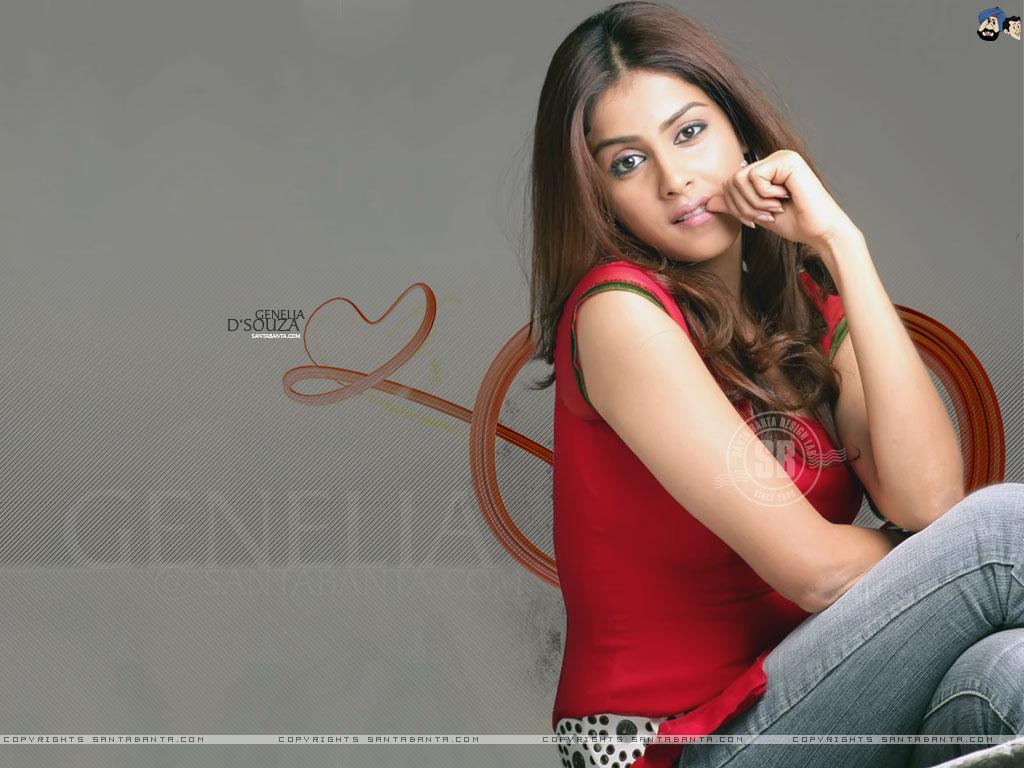 Genelia D Souza - Genelia D Souza Hot Hd , HD Wallpaper & Backgrounds