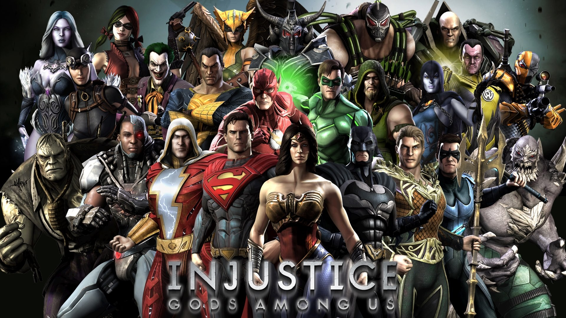 Injustice Gods Among Us Wallpaper Widescreen 226471 Hd