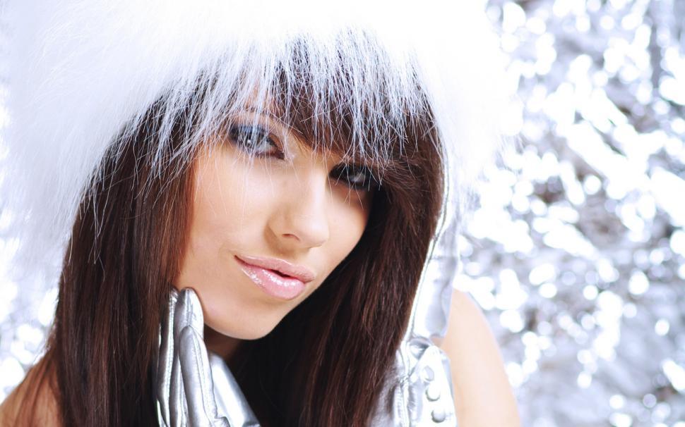 Beautiful Girl Full Hd Wallpaper - Christmas Girls , HD Wallpaper & Backgrounds