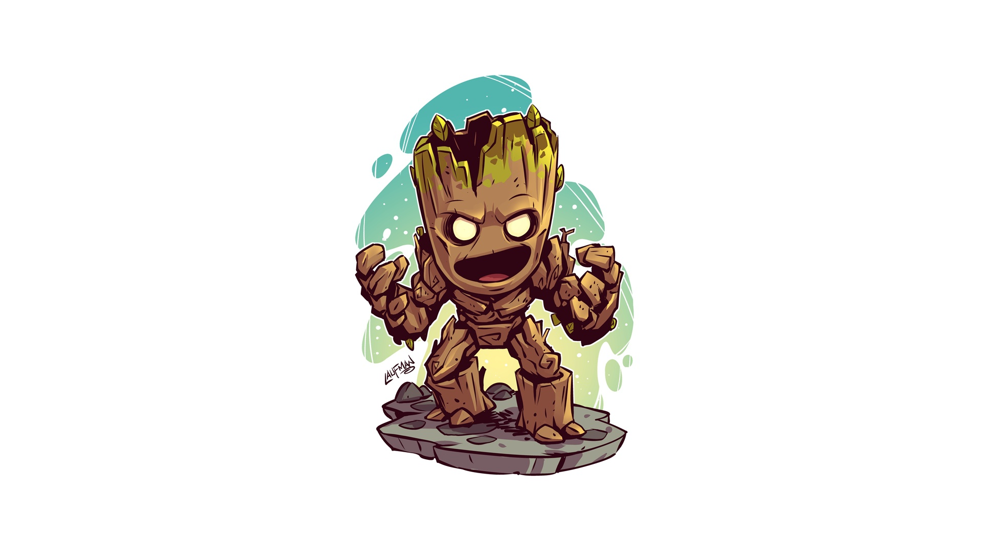 Marvel Comics Guardians Of The Galaxy Groot Wallpaper Desenhos