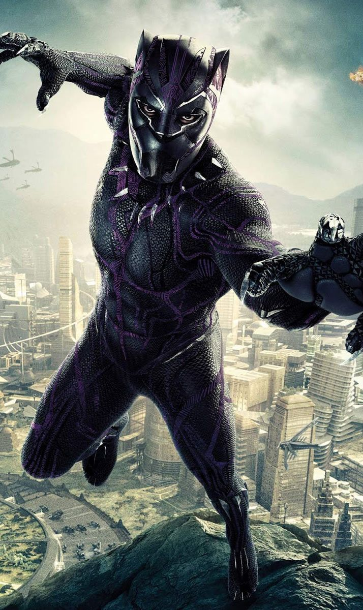 Black Panther Hd Wallpapers For Iphone And Android Black