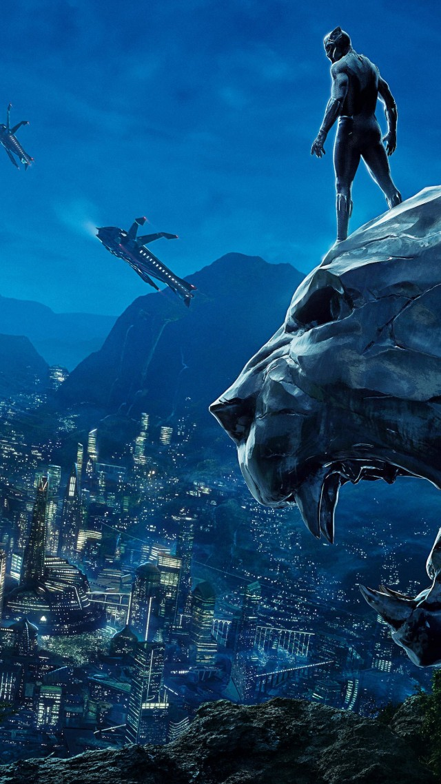 Black Panther Wallpaper Jp25652 Iphone 6s Wallpaper 4k