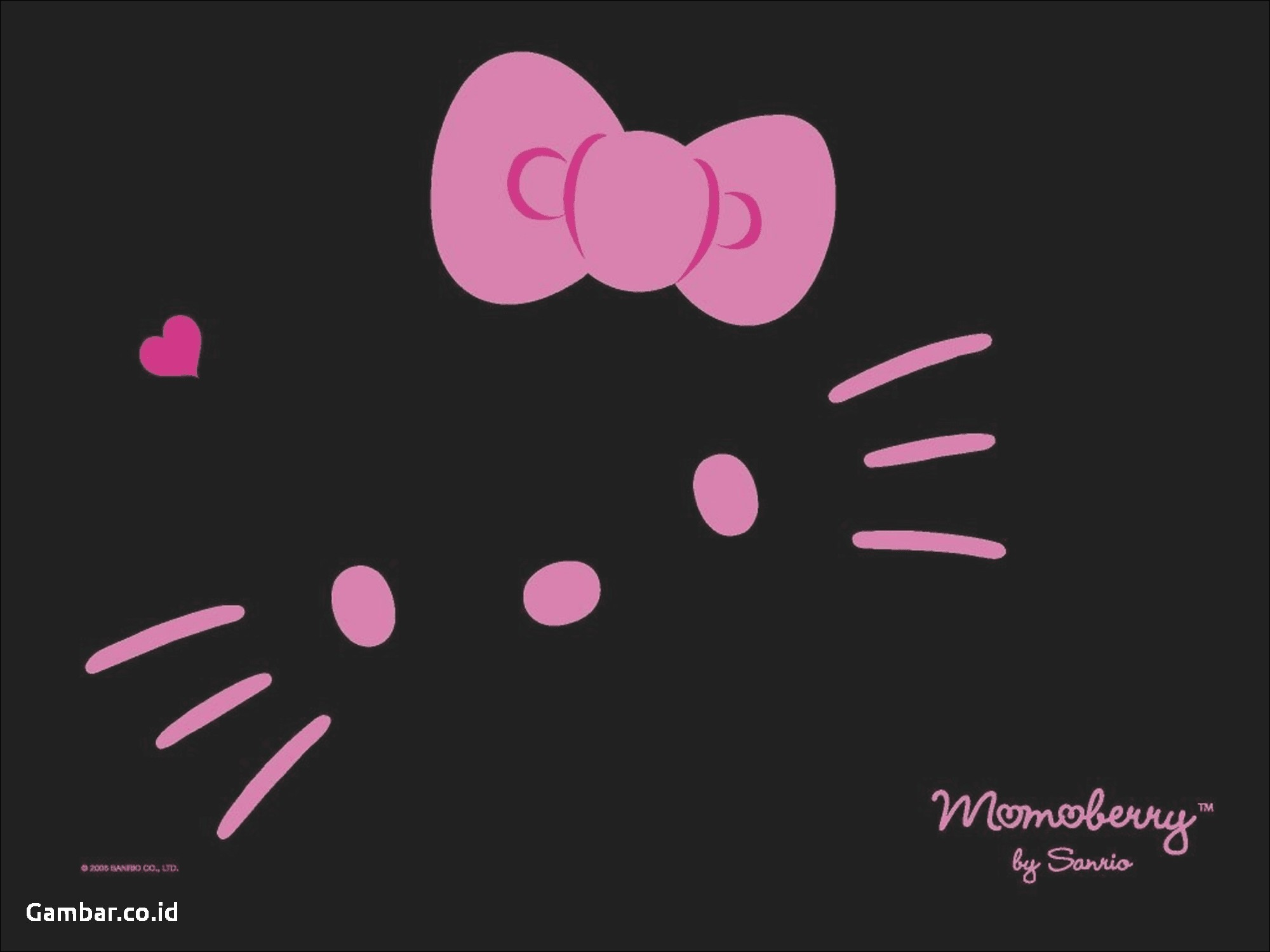 Hello Kitty Wallpapers Black Hello Kitty Background