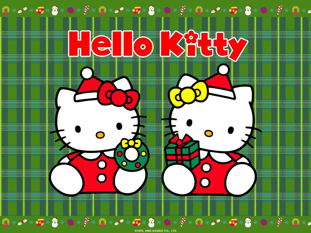 Hello Kitty Christmas Wallpaper Desktop , HD Wallpaper & Backgrounds