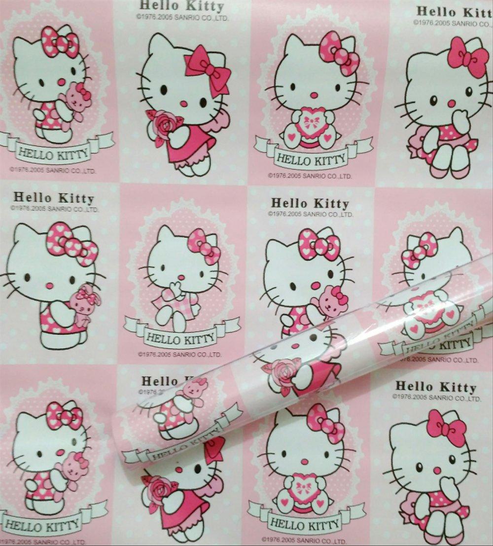Jual Wallpaper 10 Meter Hello Kitty Pink Terbaru Di Hello
