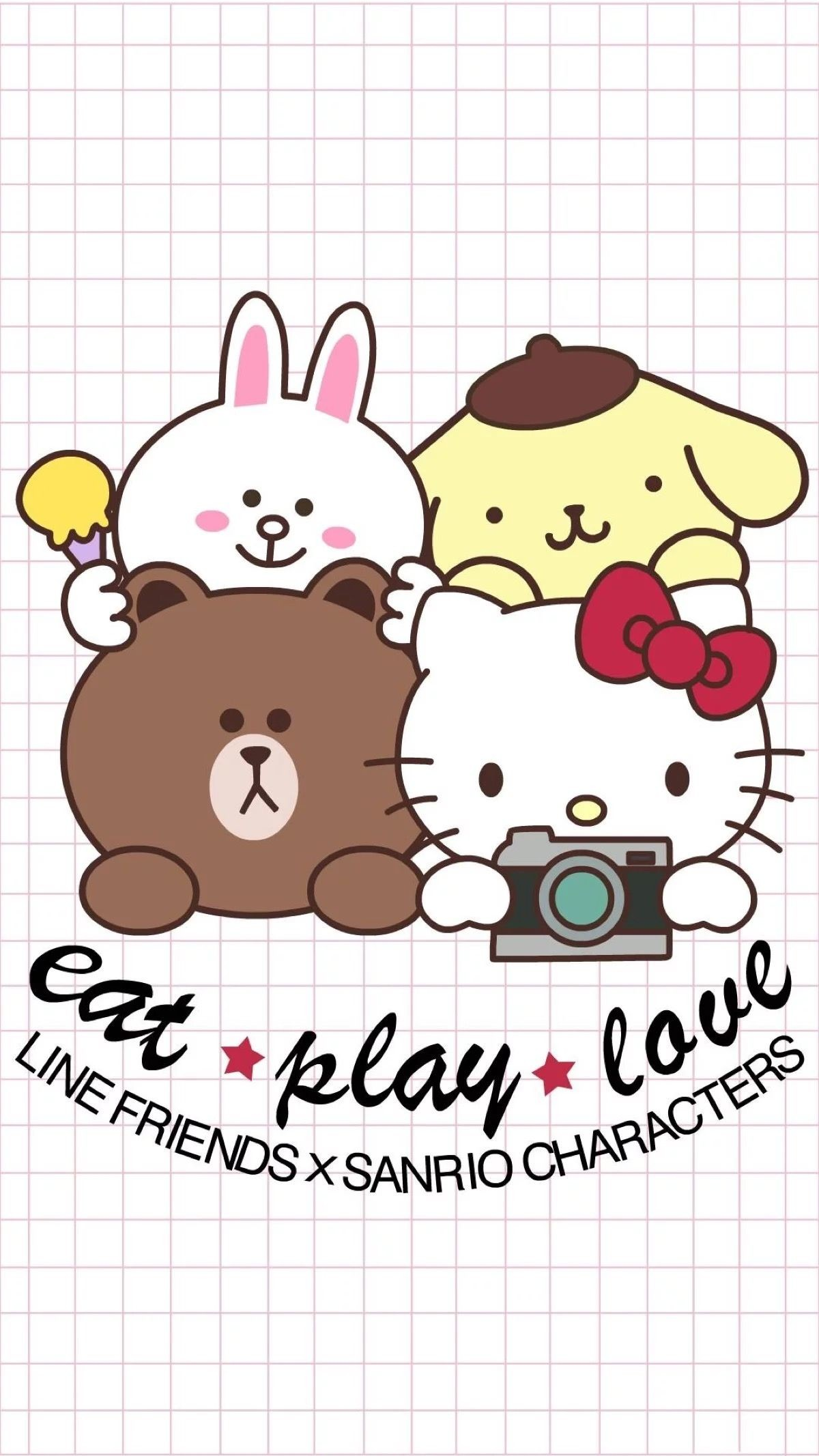 Sanrio Friends Wallpaper Wallpapers Kitty Wallpaper