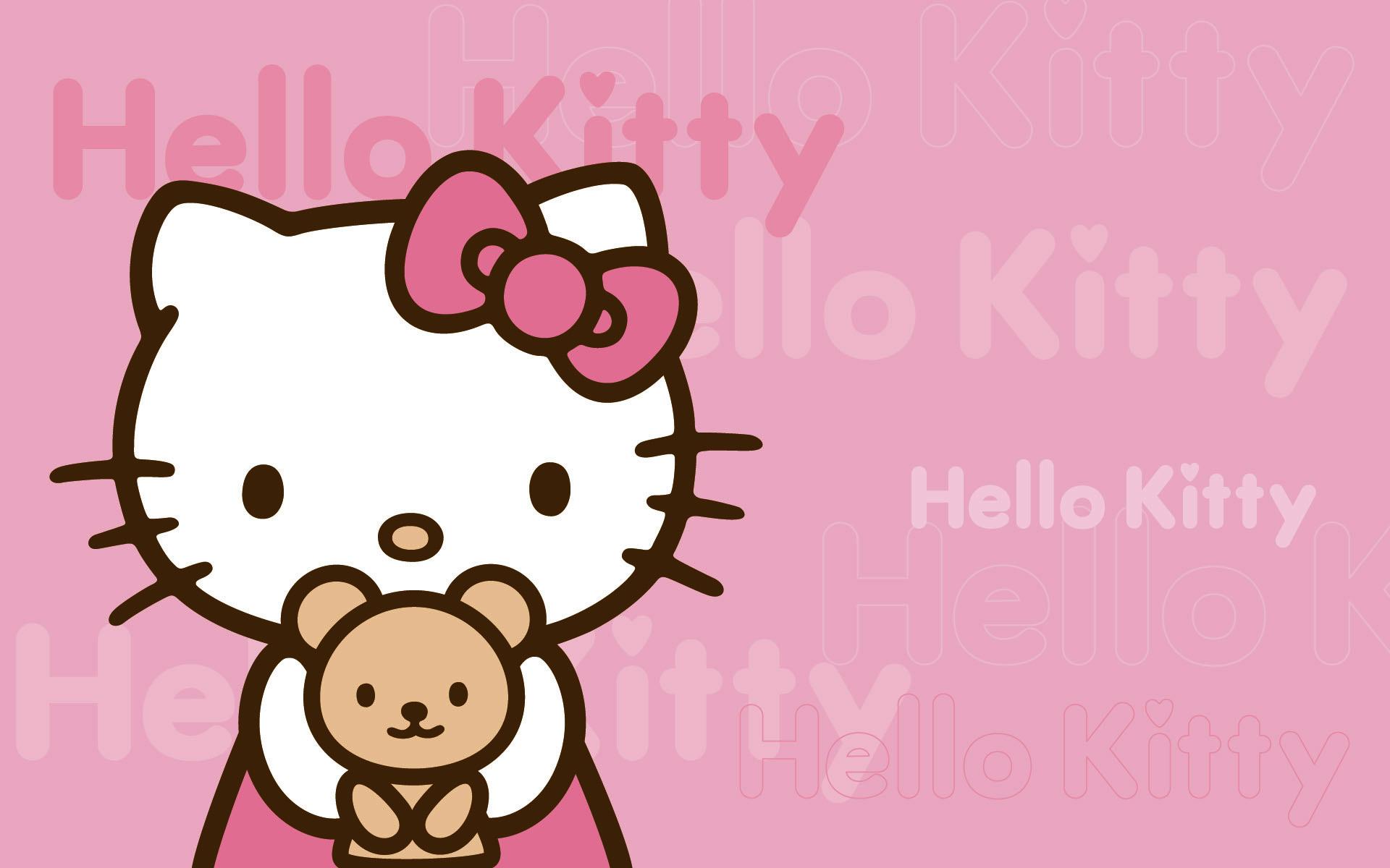 Hello Kitty Pink Wallpaper Background Cute Hello Kitty