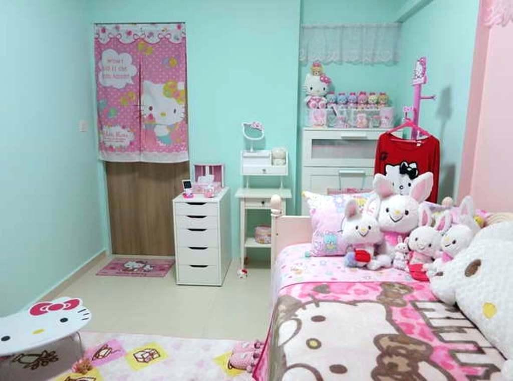 Hello Kitty Home Decor Adorable Hello Kitty Bedroom Simple Hello