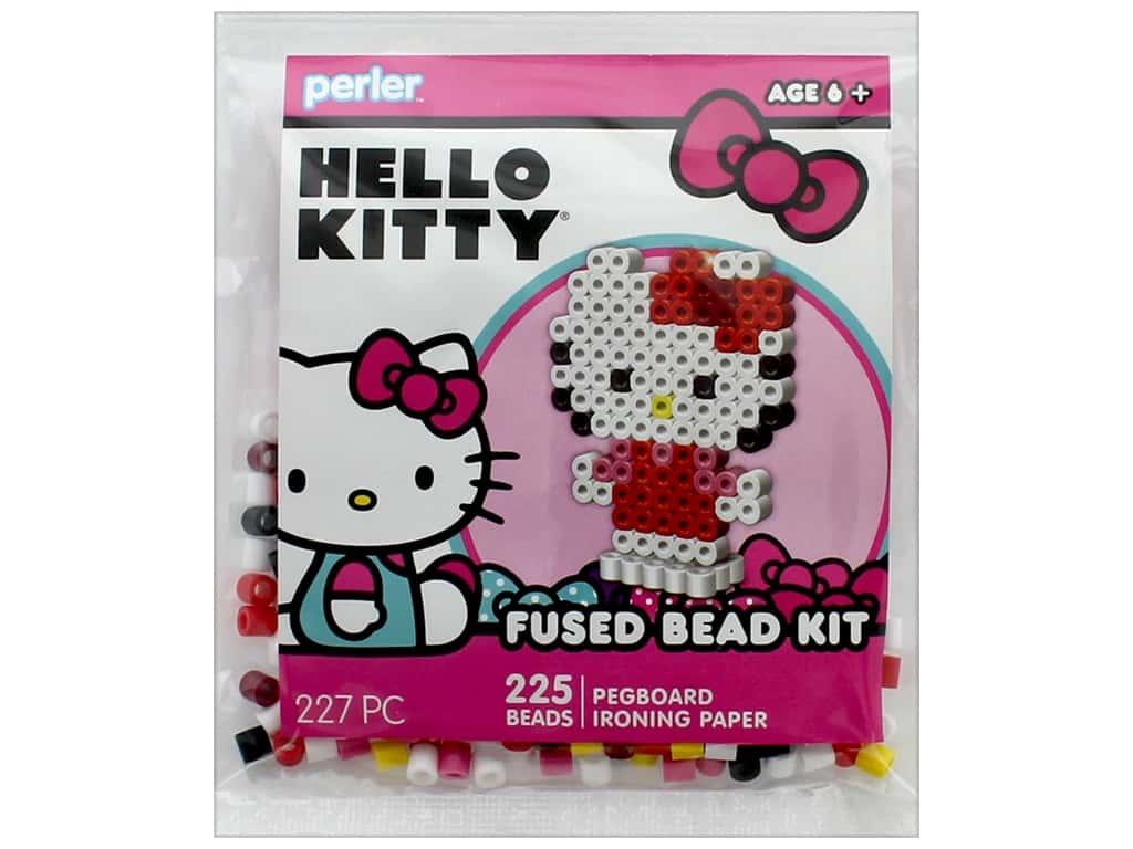Perler Fused Bead Kit Trial 227 Pc 3d Hello Kitty Perler