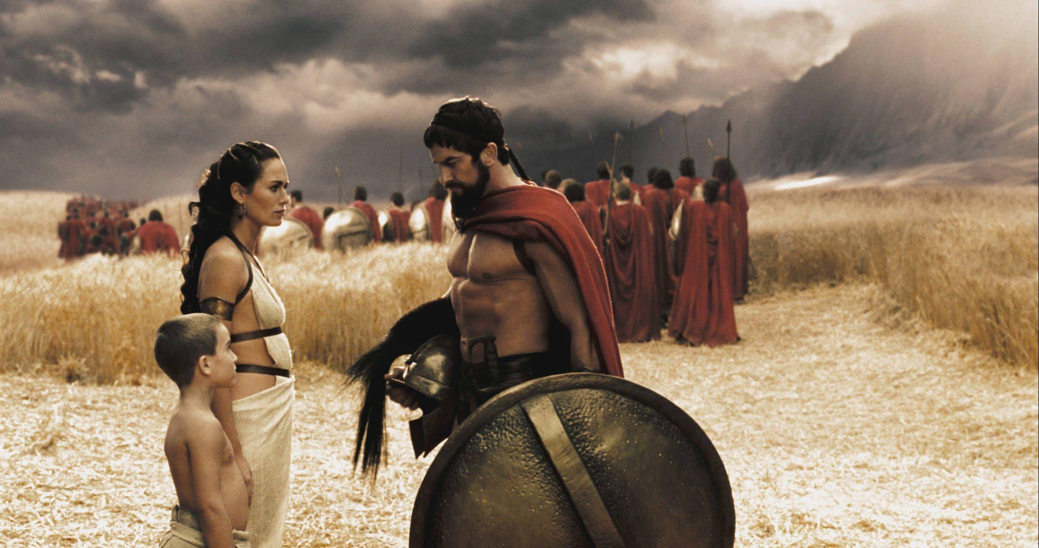 300 Full Movie >> Leonidas Quotes Gorgo Queen Of Sparta 300 2208848 Hd