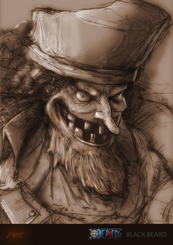 Download Wallpaper Blackbeard One Piece Fan Art 2212657 Hd Wallpaper Backgrounds Download