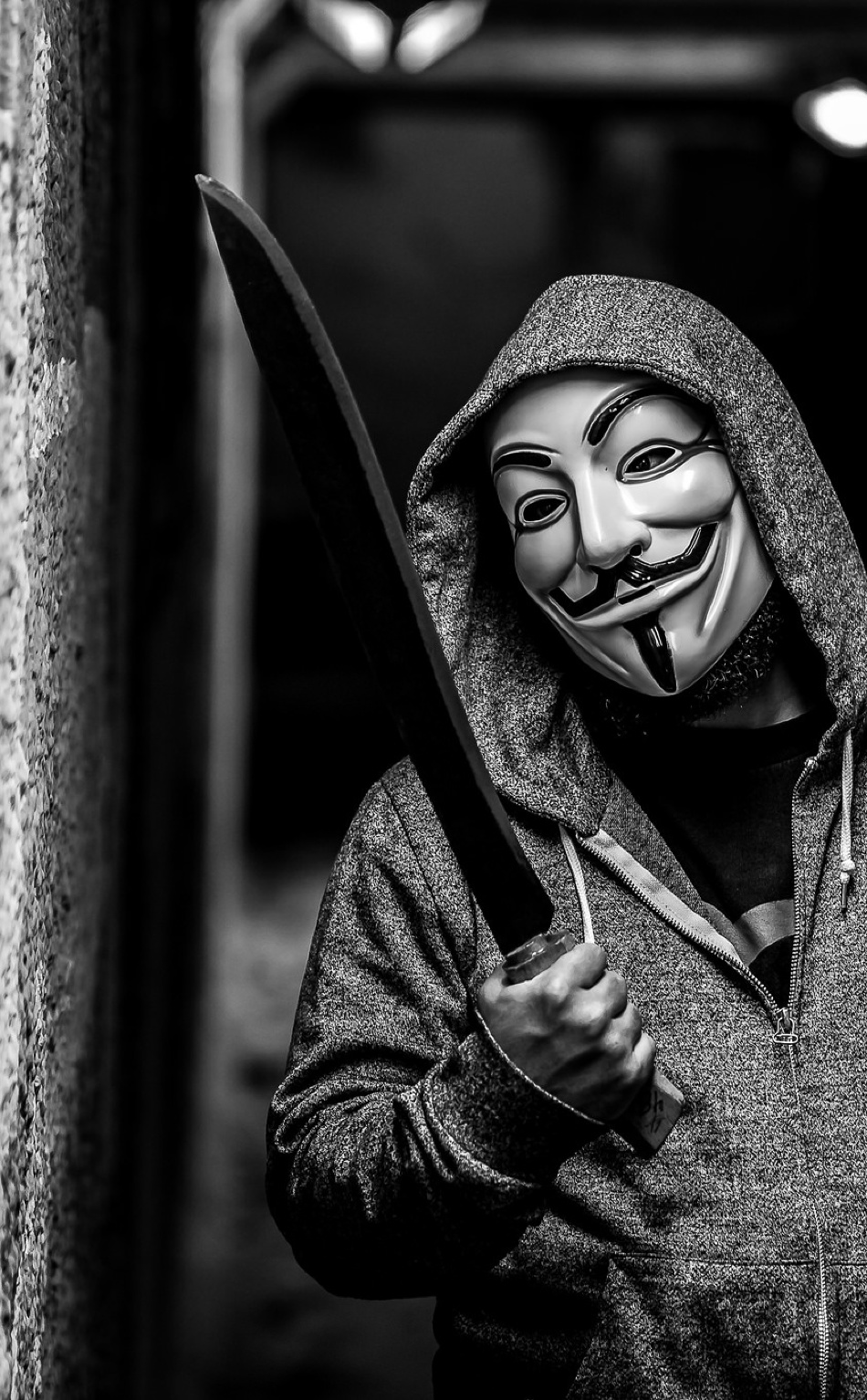 Anonymous Mask Wallpaper - Iphone Wallpaper Hd Men , HD Wallpaper & Backgrounds