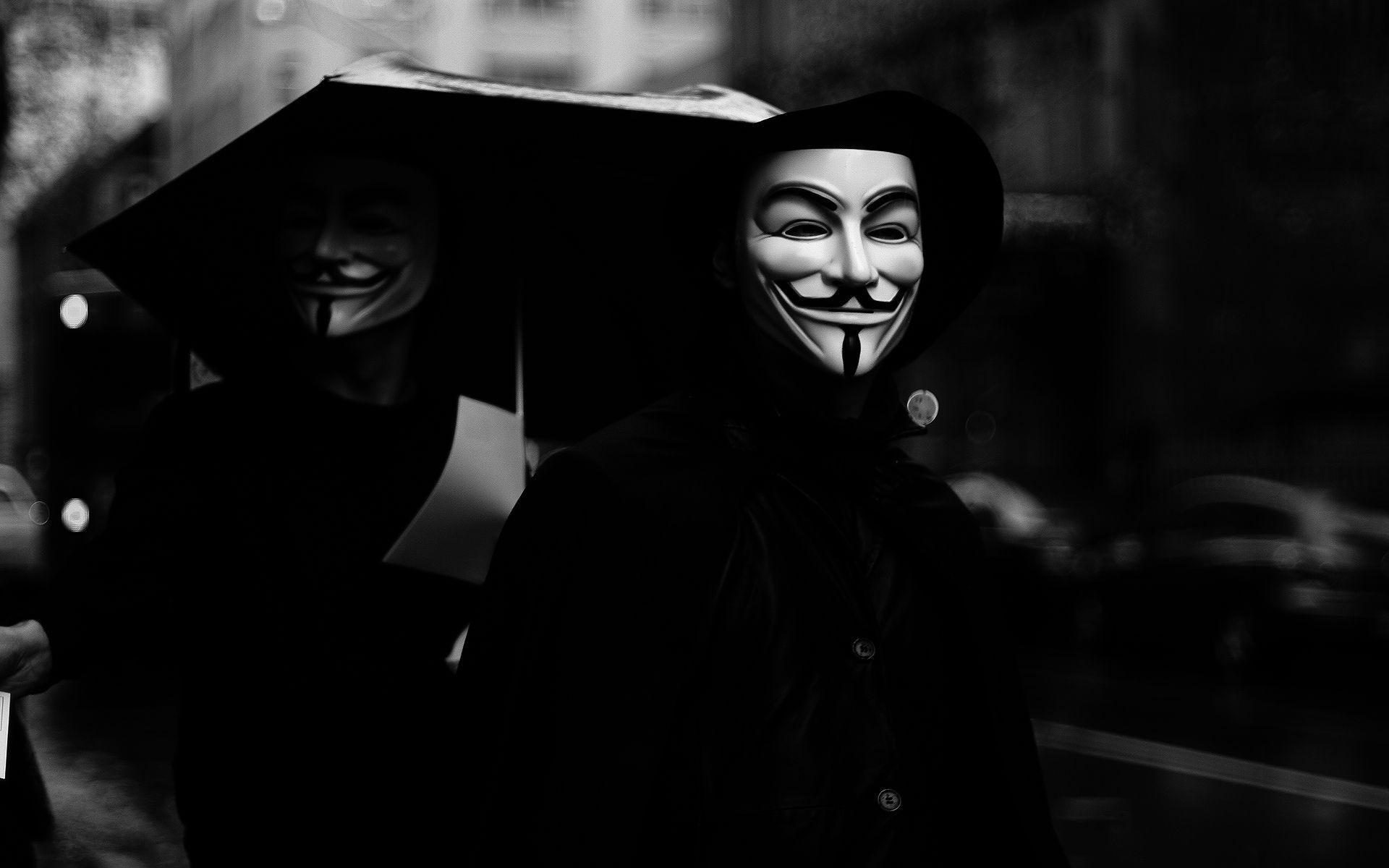 V For Vendetta Wallpapers Man In Anonymous Mask 2213551 Hd