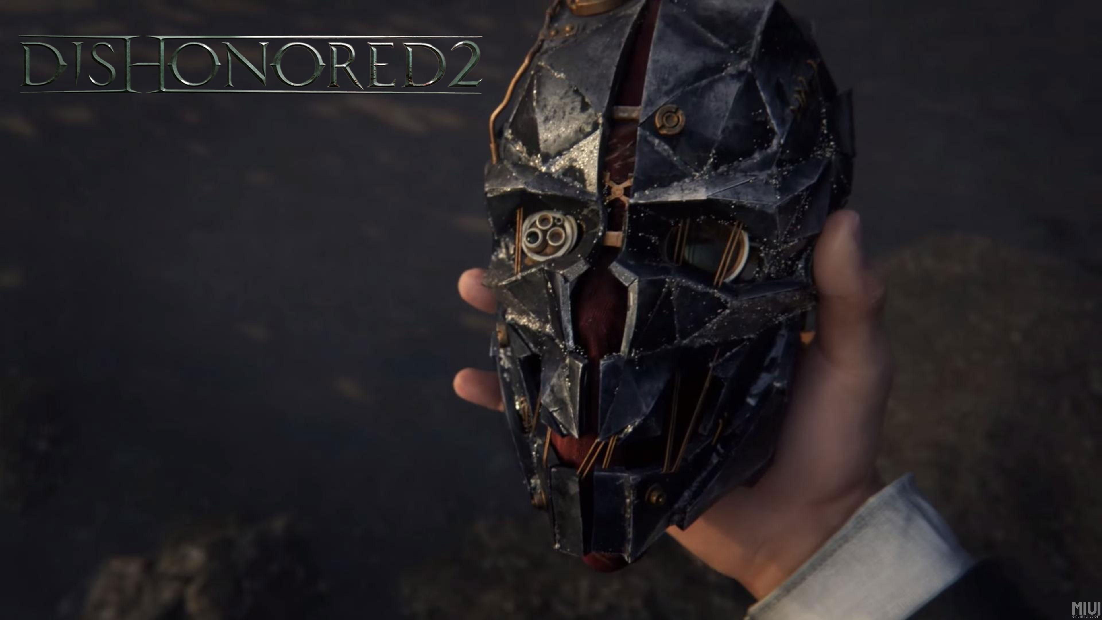 Gaming Dishonored 2 Corvo Mask 2213963 Hd Wallpaper