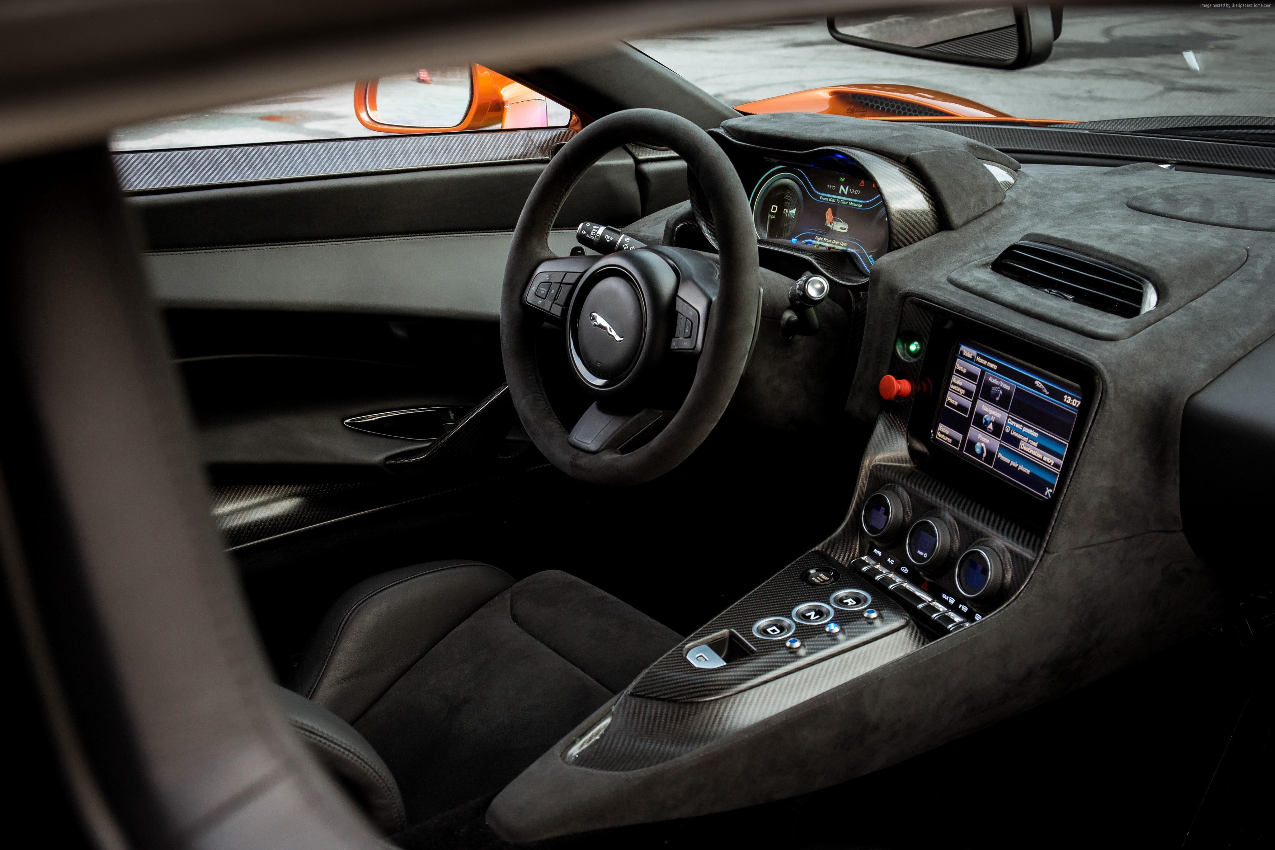 Interior Jaguar C X75 007 Spectre James Bond Voiture