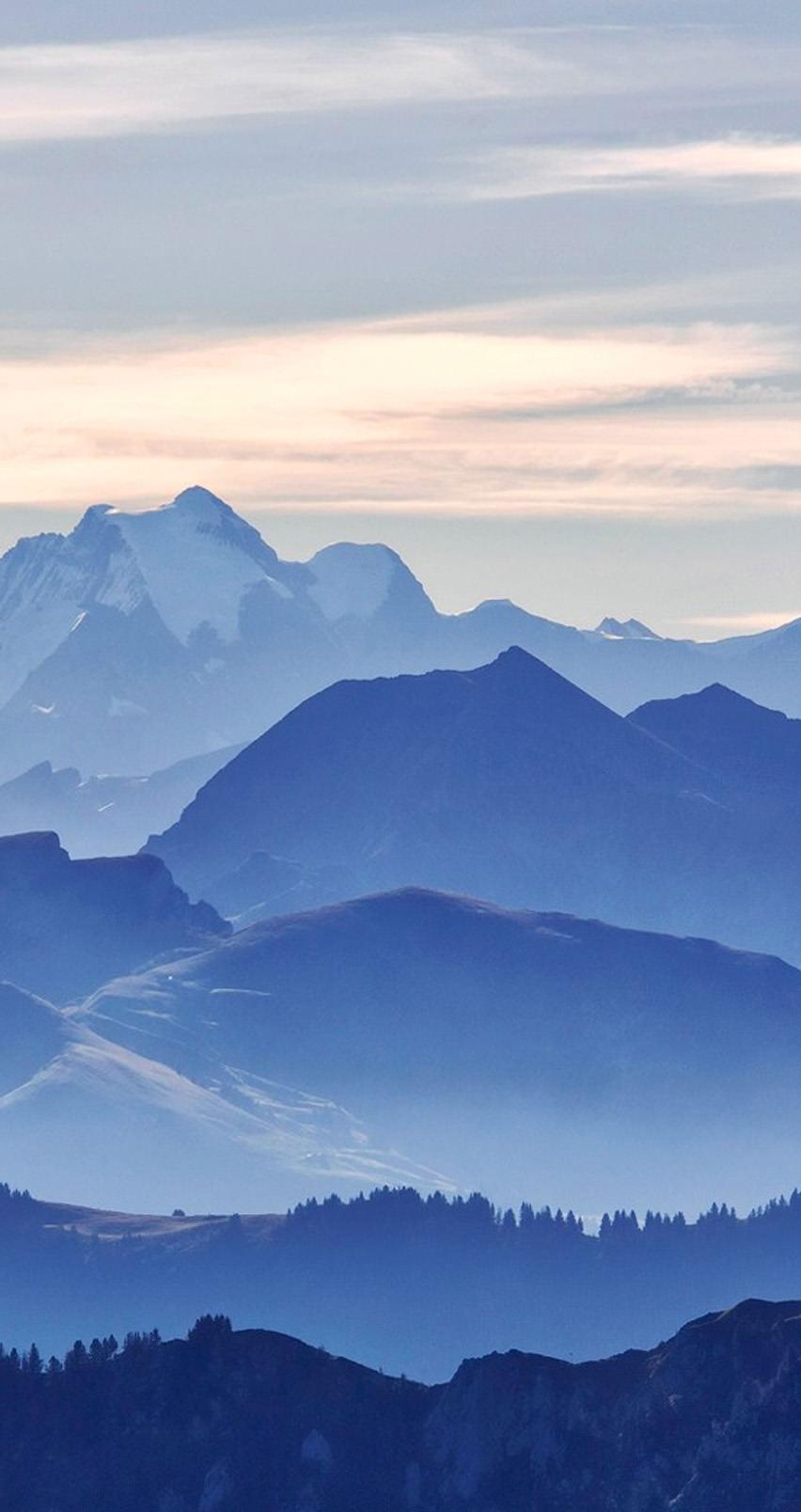 Iphone Natuur Achtergrond High Resolution Mountain