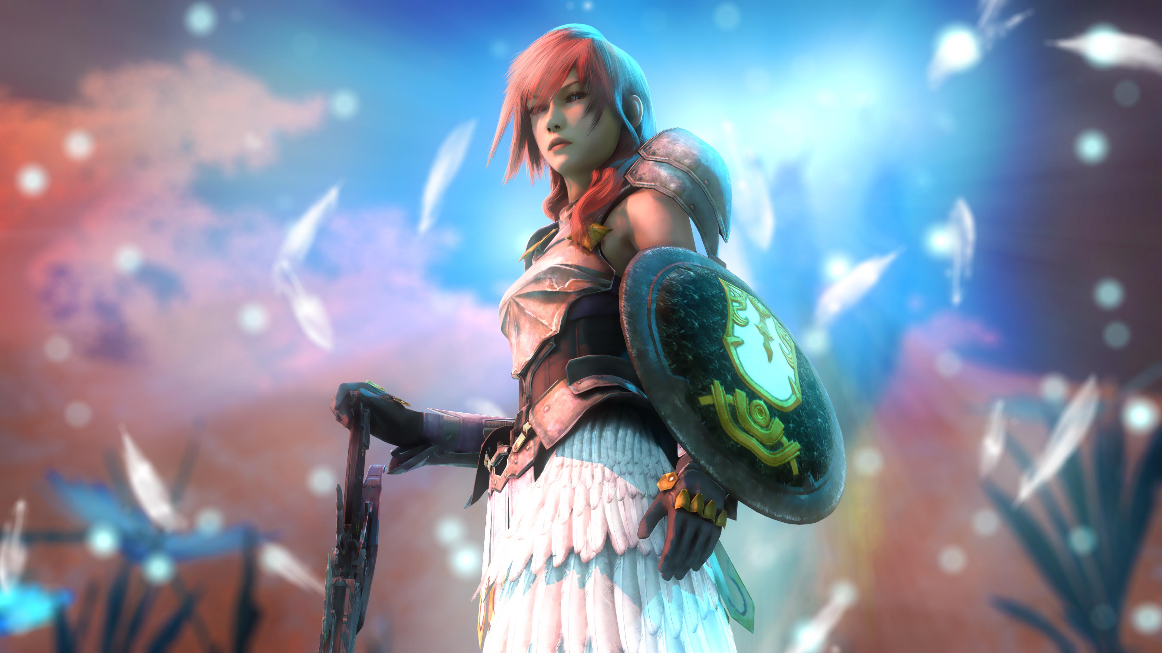 Wallpaper Lightning Final Fantasy