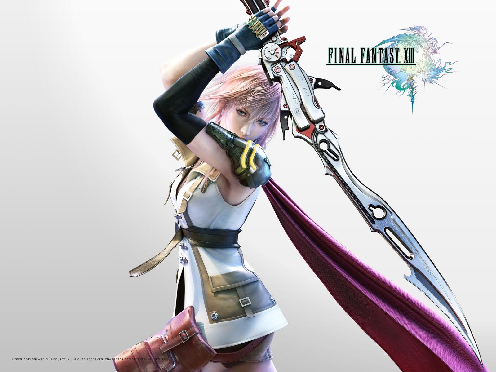 Anime Square Enix Final Fantasy Xiii Lightning Farron