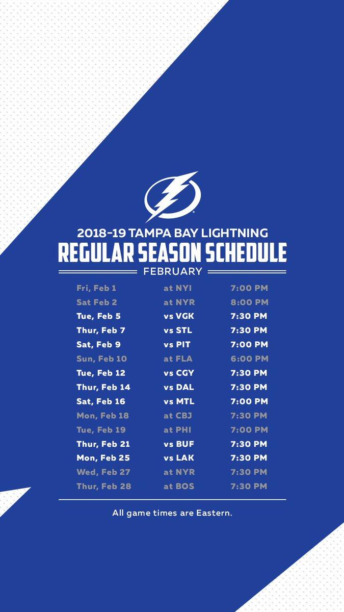 Tampa Bay Lightning On Twitter Tampa Bay Lightning 2018