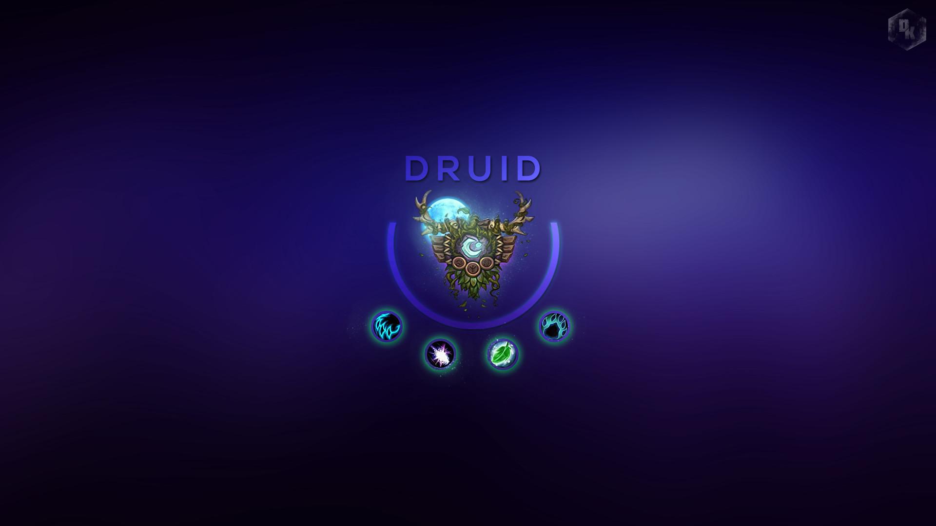 Will Rayner Druid Wallpaper World Of Warcraft Wallpaper Druid