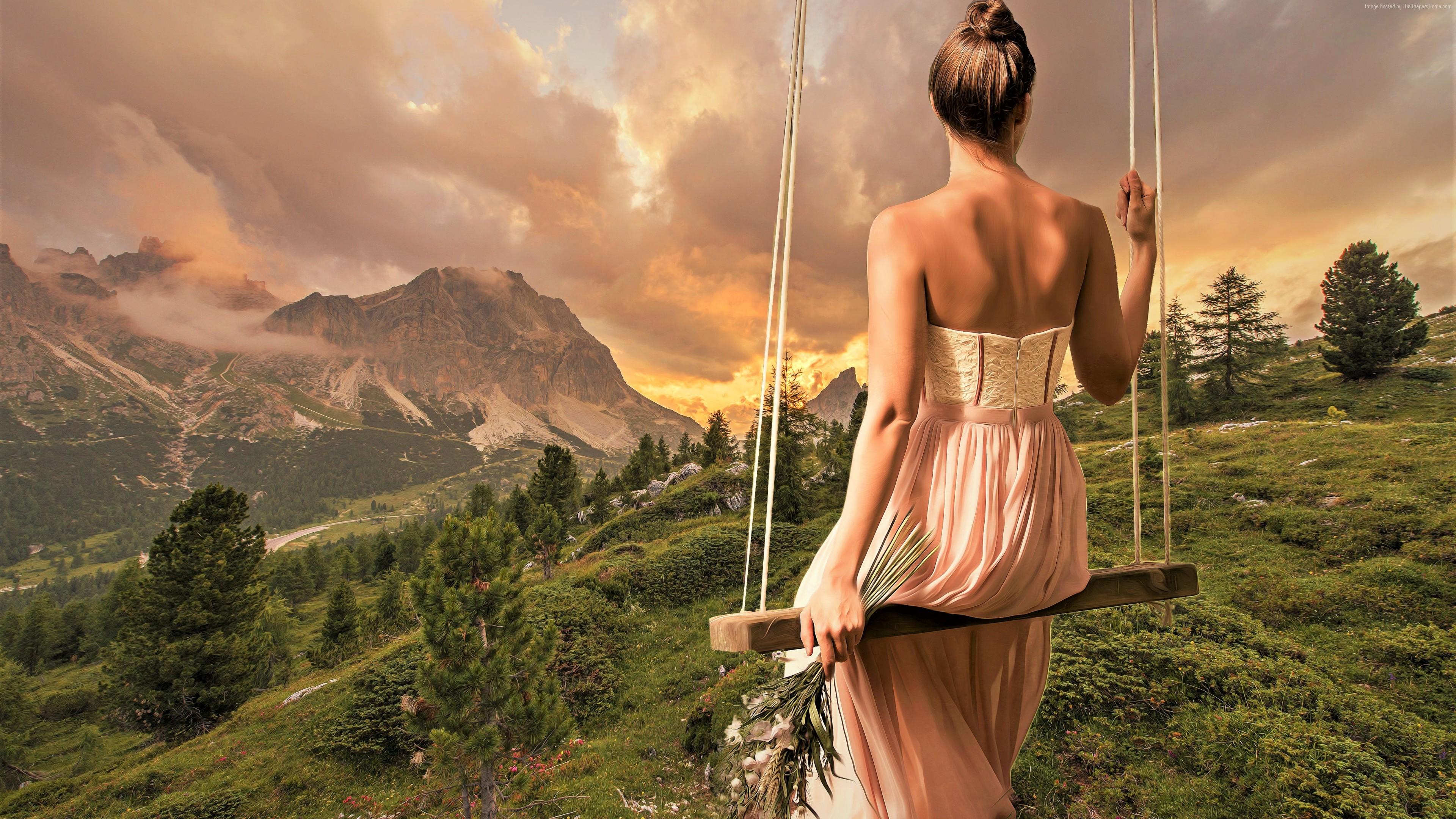 Beautiful Girl 4k , HD Wallpaper & Backgrounds