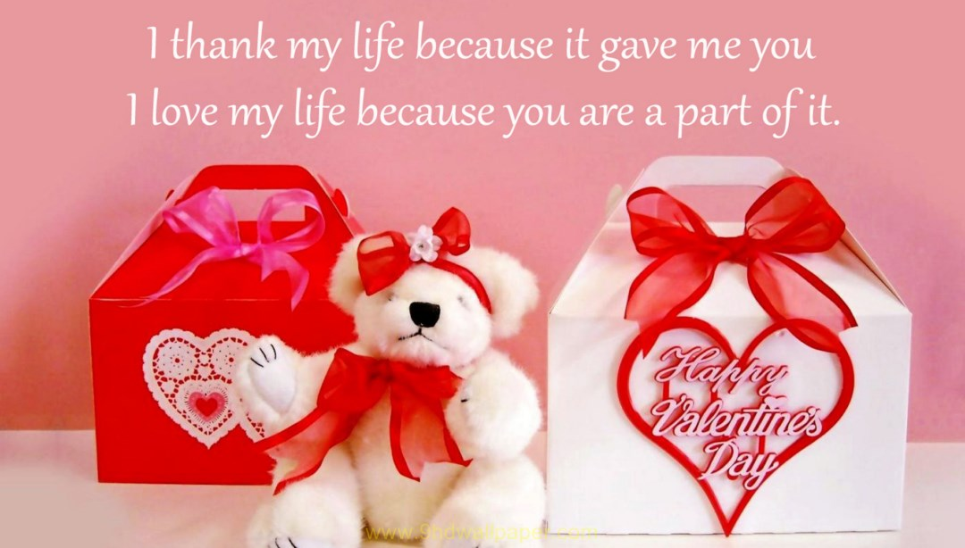 Happy Valentines Day Sweet Girl , HD Wallpaper & Backgrounds
