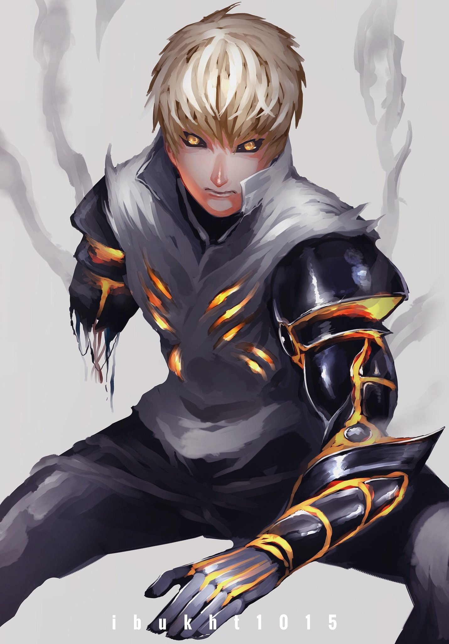 One Punch Man Genos Wallpaper Android 2231446 Hd Wallpaper
