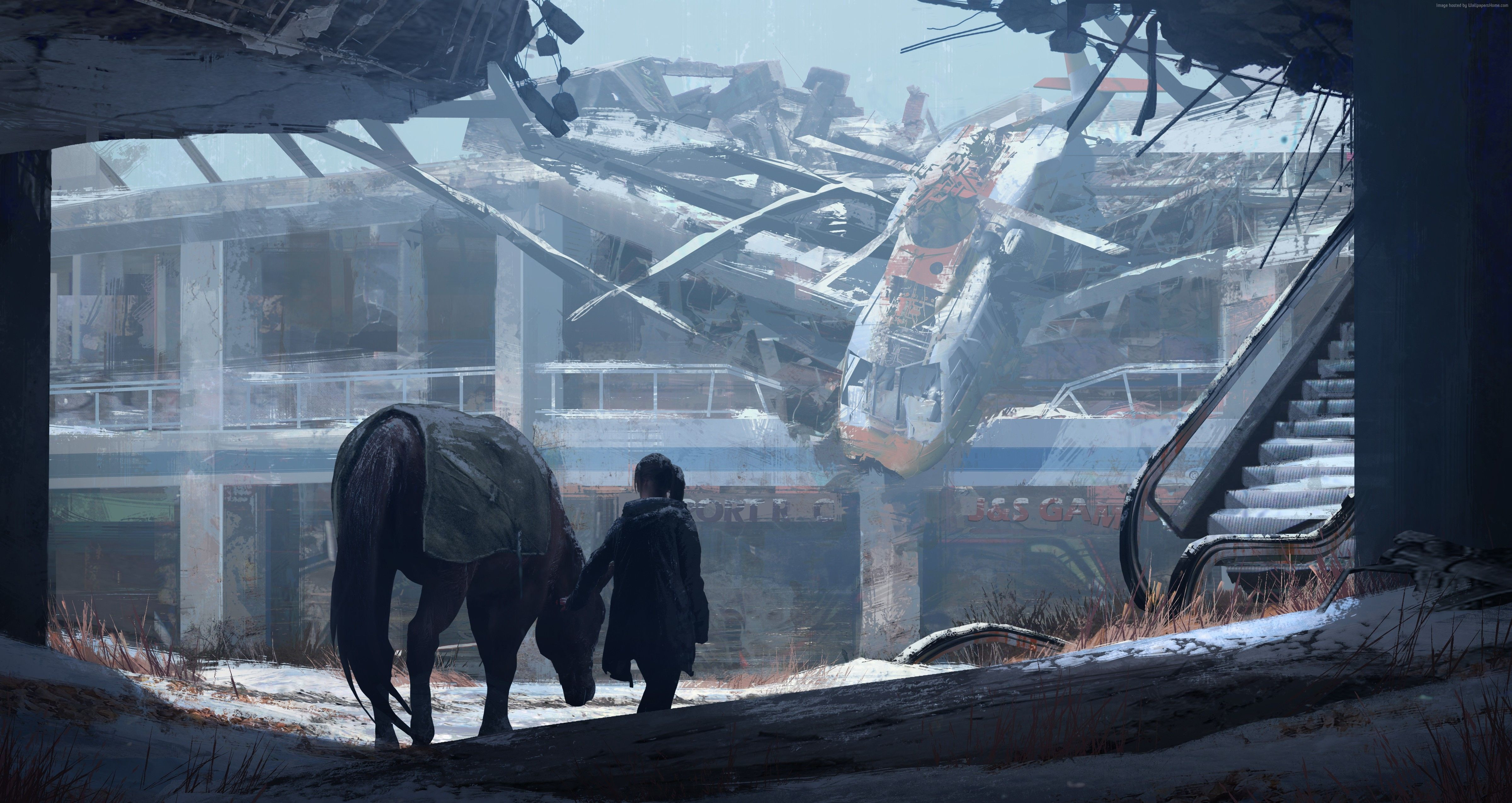 Last Of Us Concept Art , HD Wallpaper & Backgrounds