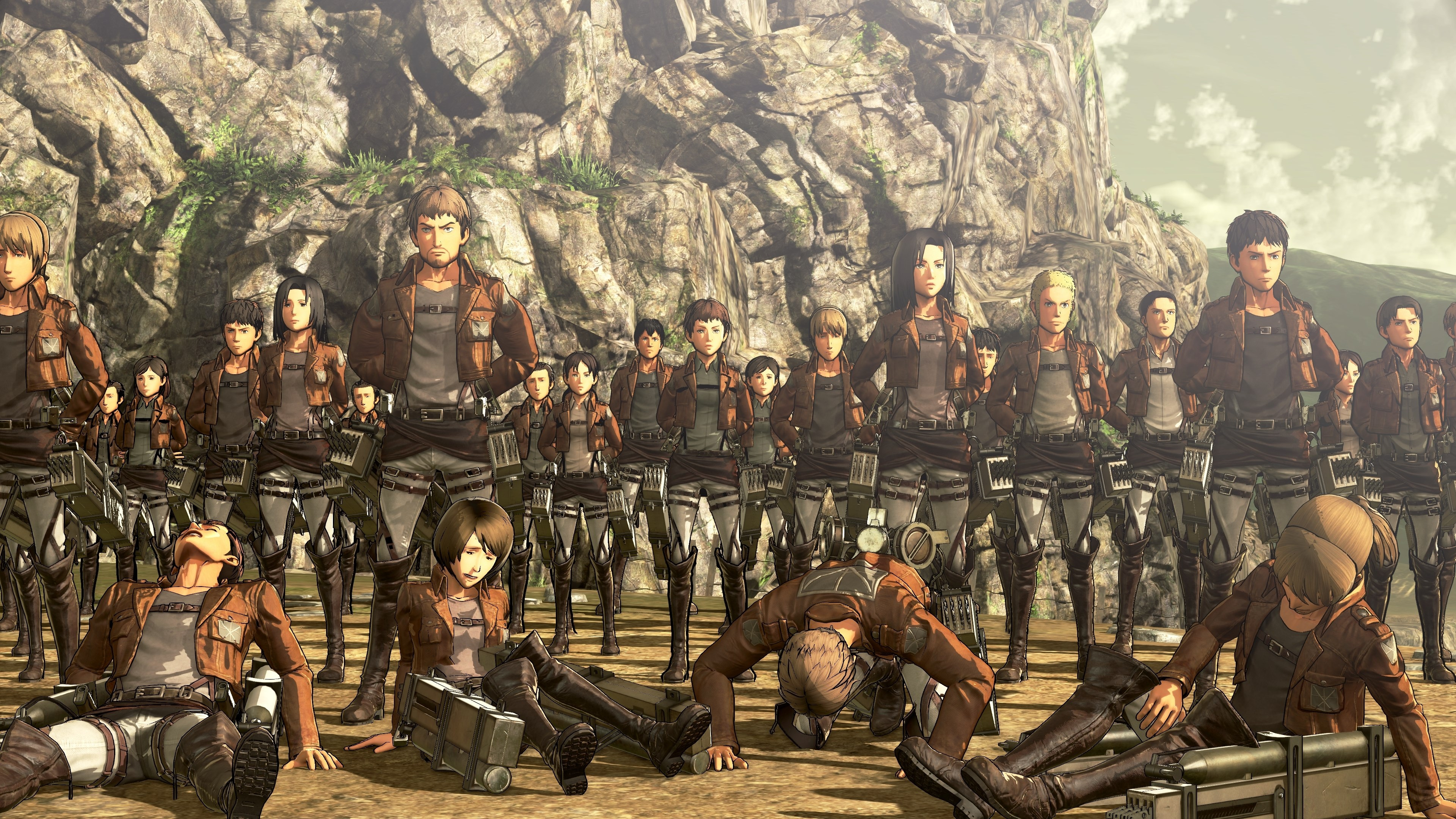 Aot 104th Cadets 2232954 Hd Wallpaper Backgrounds Download